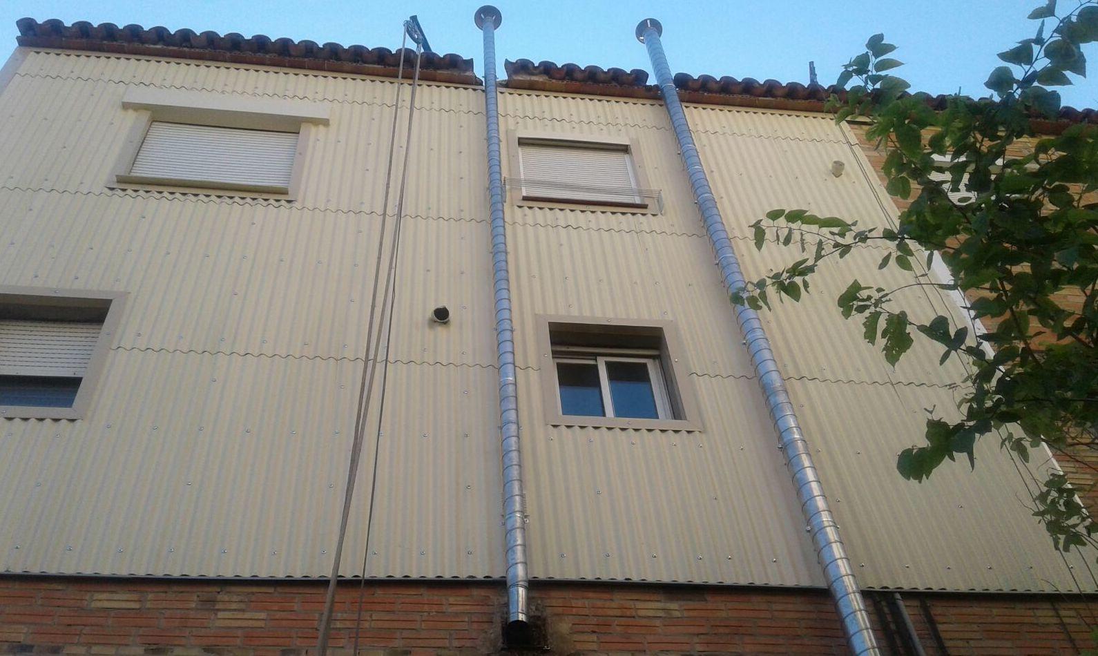 Foto 14 de Instalación de tabiques pluviales en  | Bon Tabic