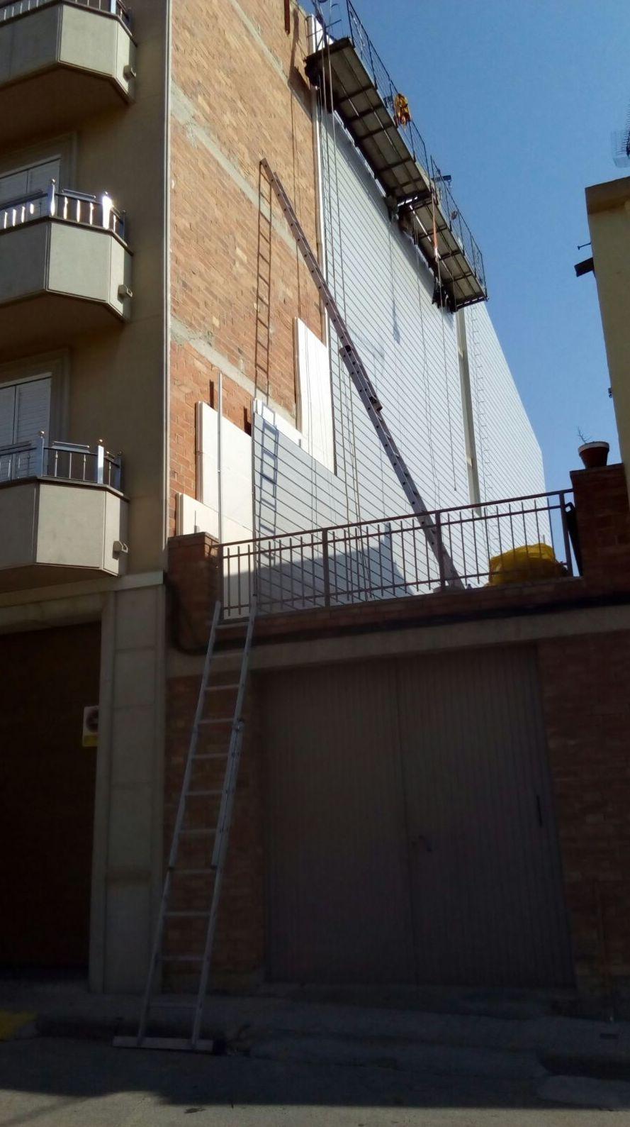 Revestimiento de fachadas Lleida