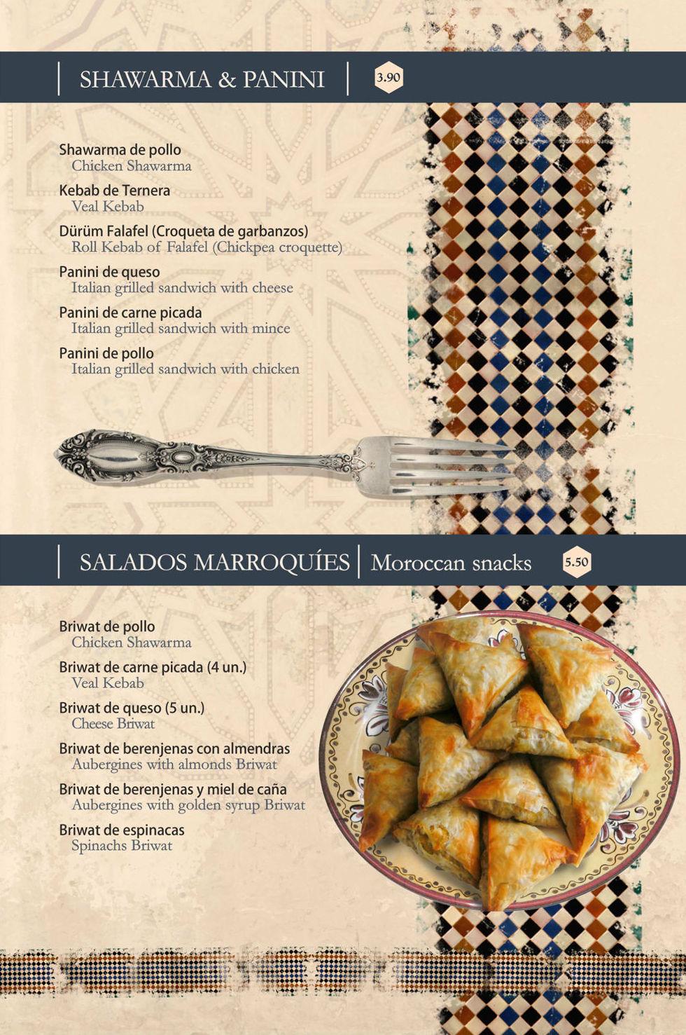 Especialidades de la cocina árabe en Granada