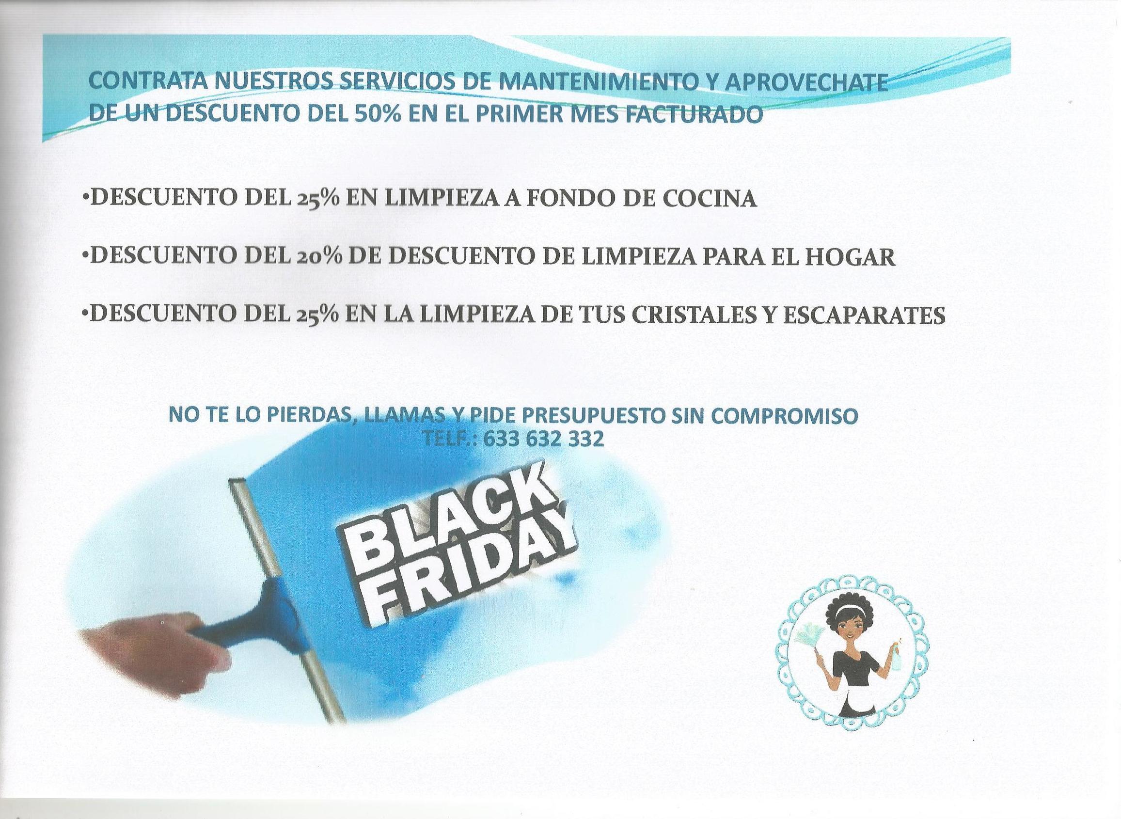 APROVECHAS EL BLACK FRIDAY DESDE EL 19 HASTA EL 25 DE NOVIEMBRE