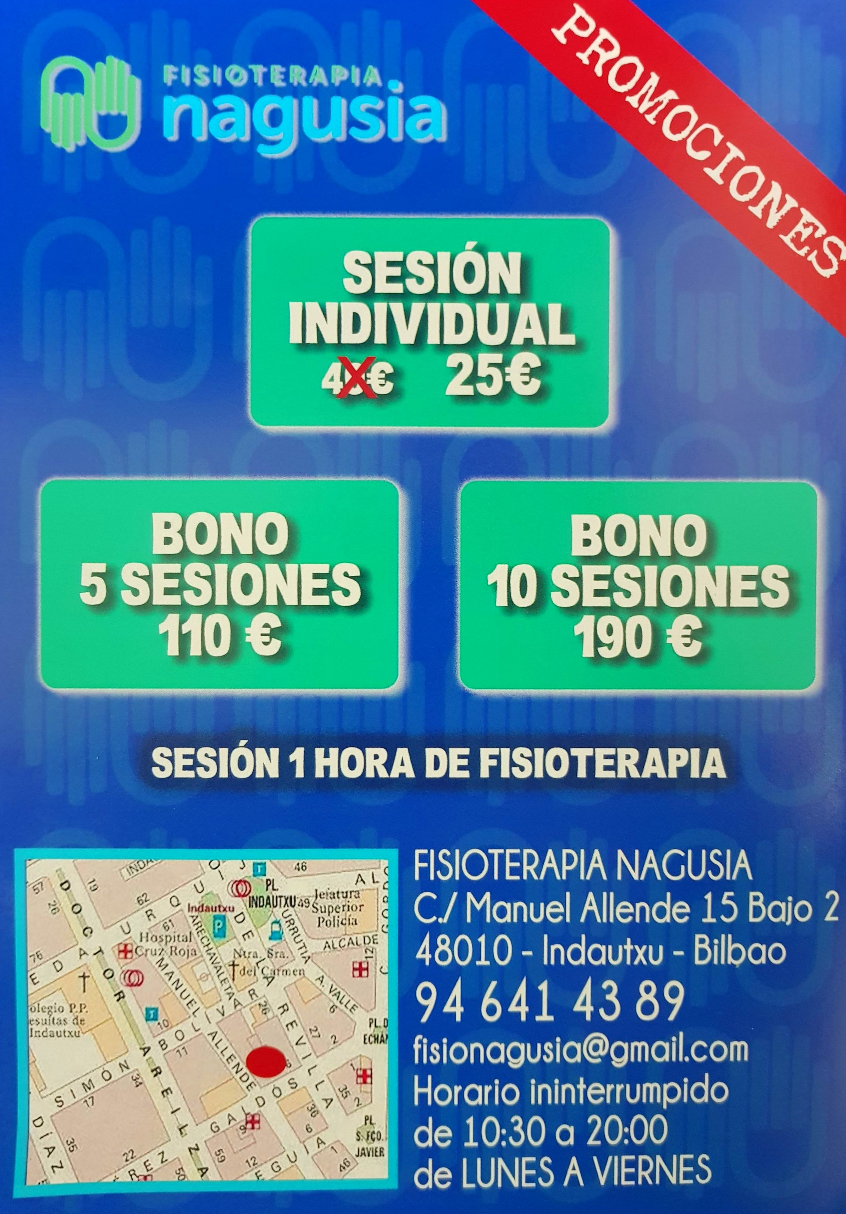 Ofertas fisioterapia en Bilbao