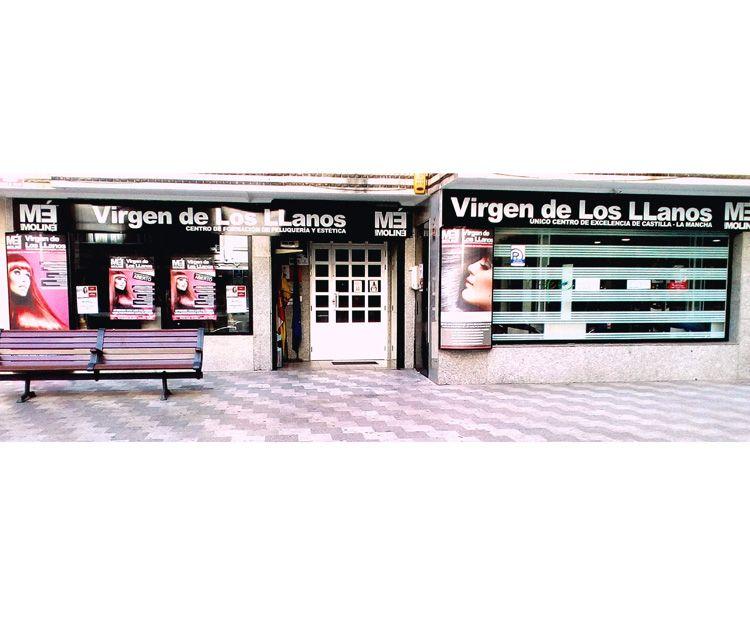 Fachada de la academia de estética en Albacete