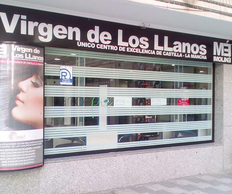 Fachada de nuestro centro en Albacete