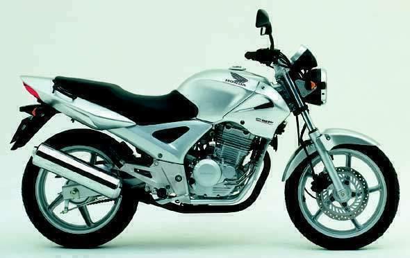 4. Honda CBF 250cc o similar: Tarifas de Larios Rental