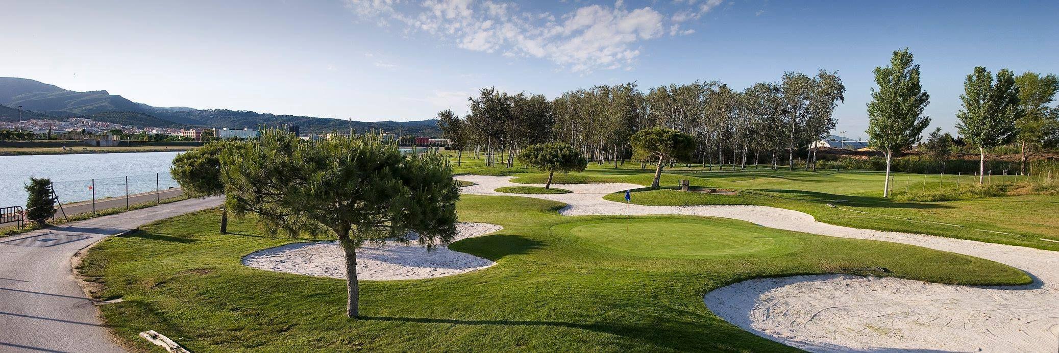 Campo de golf de 9 hoyos en Castelldefels, Barcelona