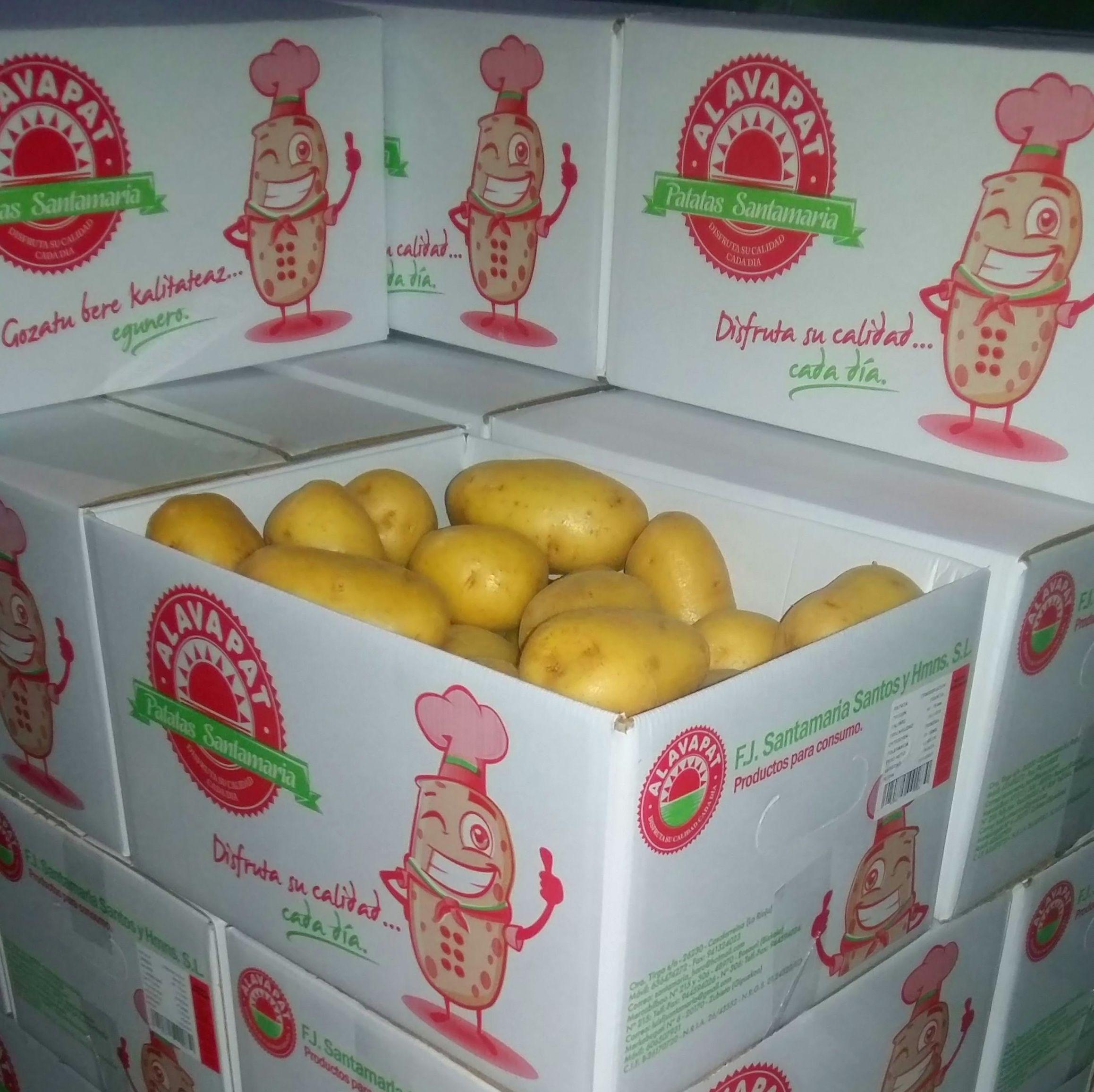 ALAVAPAT BOX: Productos de Patatas Santamaría