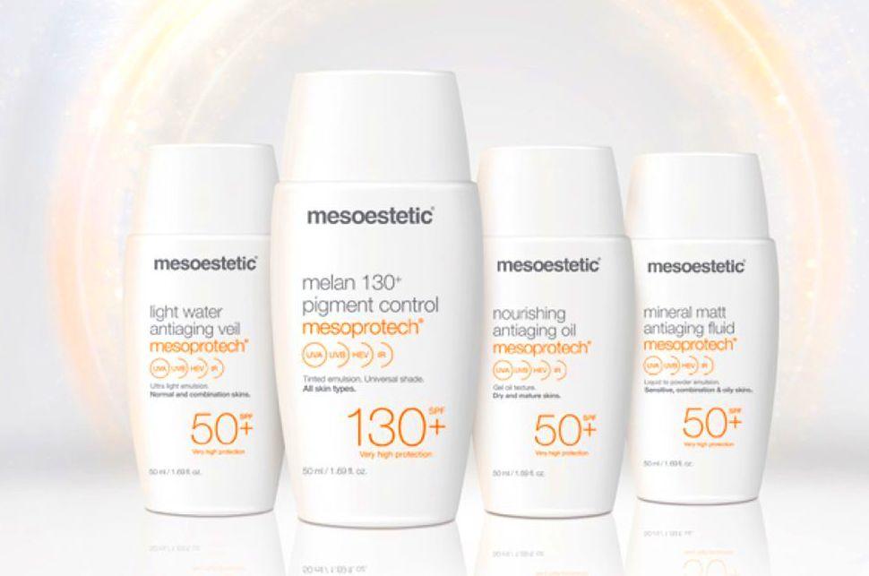 MESOPROTECH: tecnología fotoprotectora de ultima generación para todo tipo de pieles