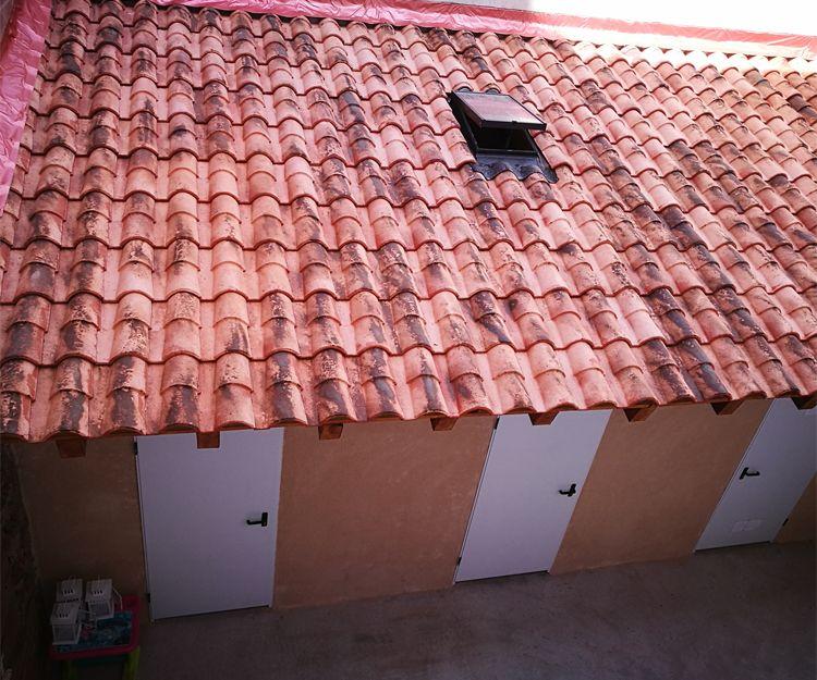 Cubiertas de tejas