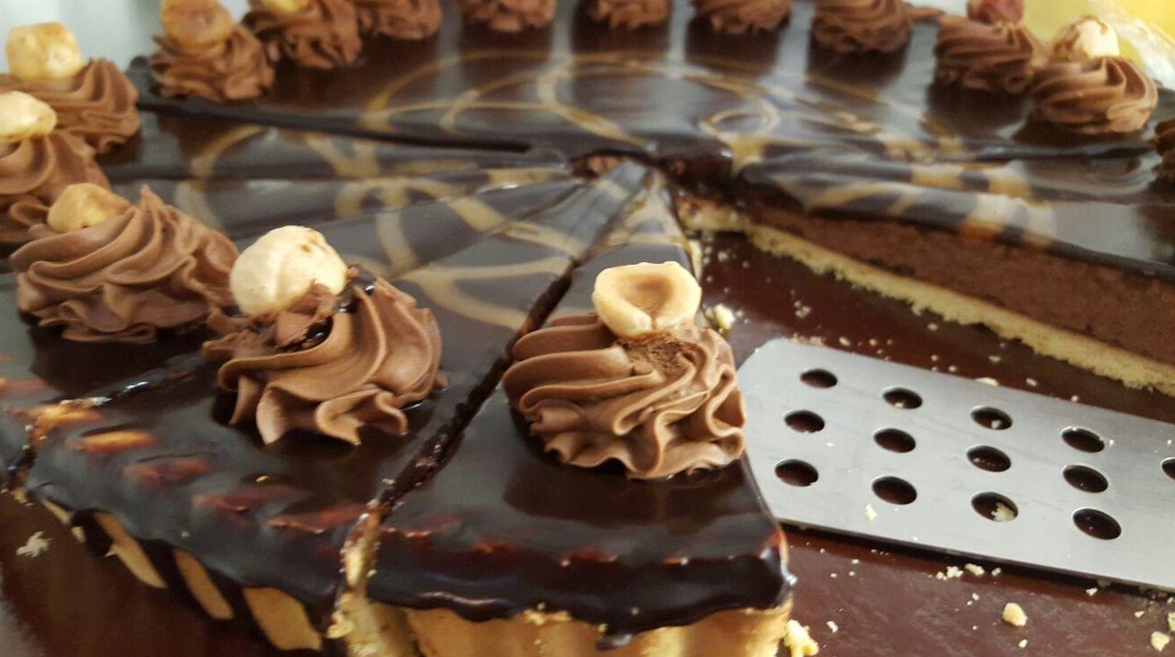 tarta de avellanas