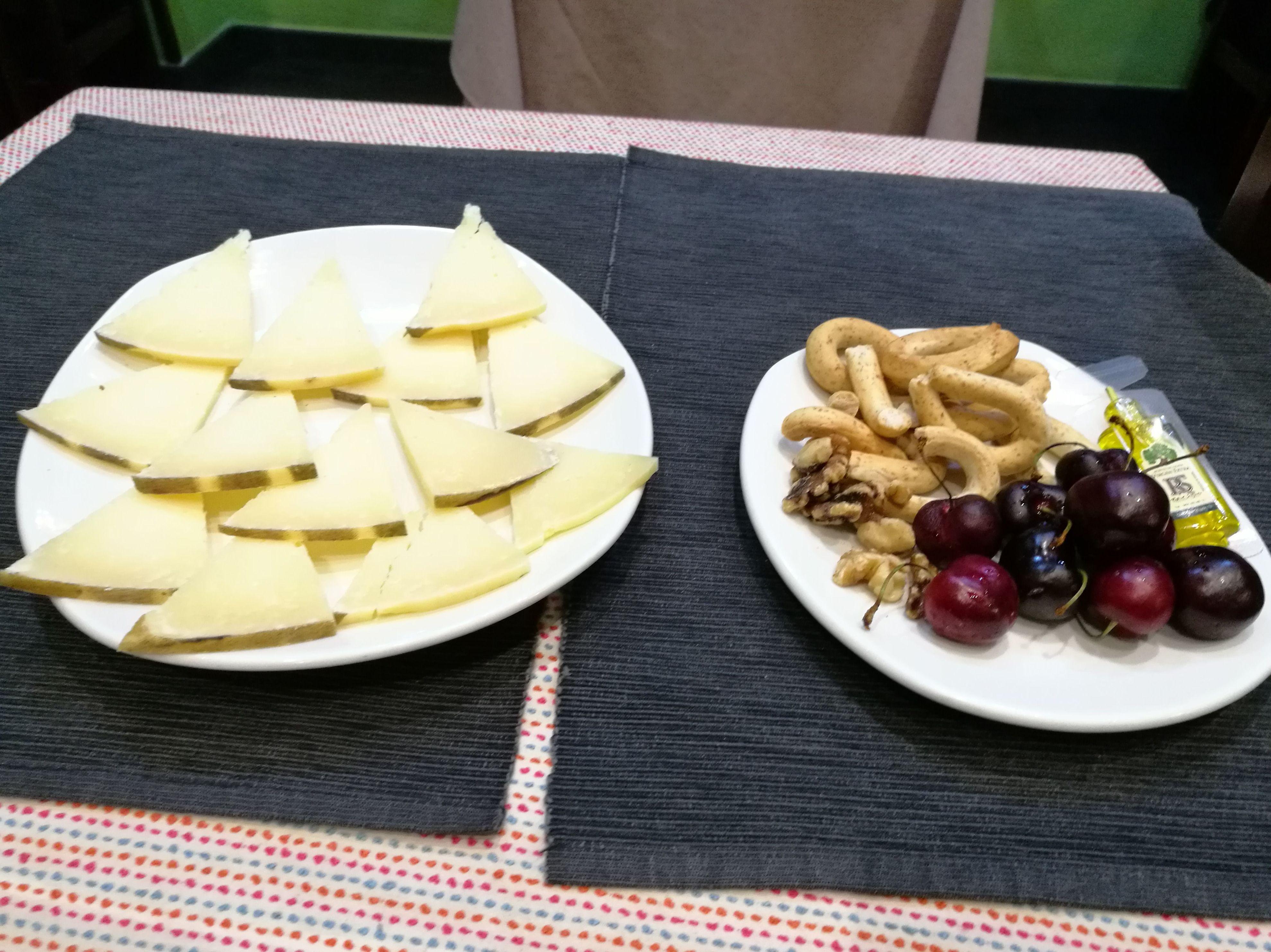 Restaurante Doña Elena en Las Tablas queso manchego