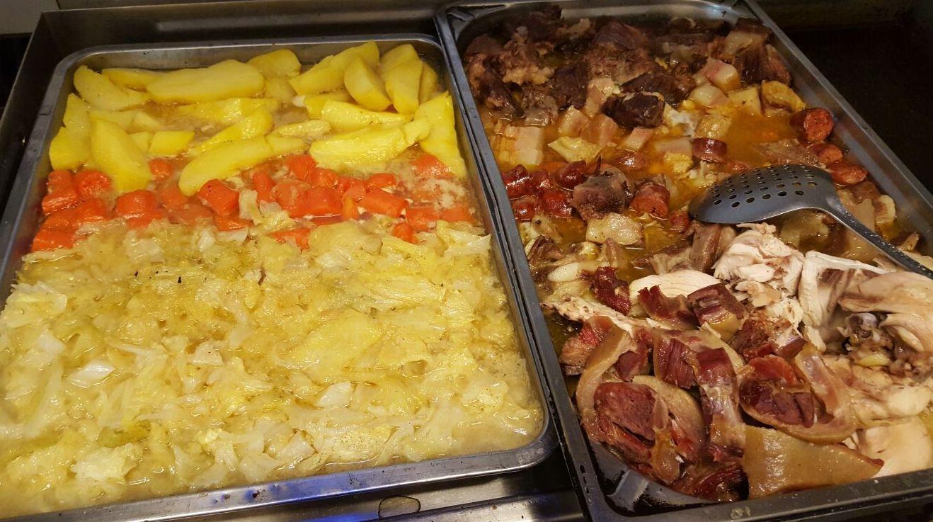 cocido madrileño(menú diario)