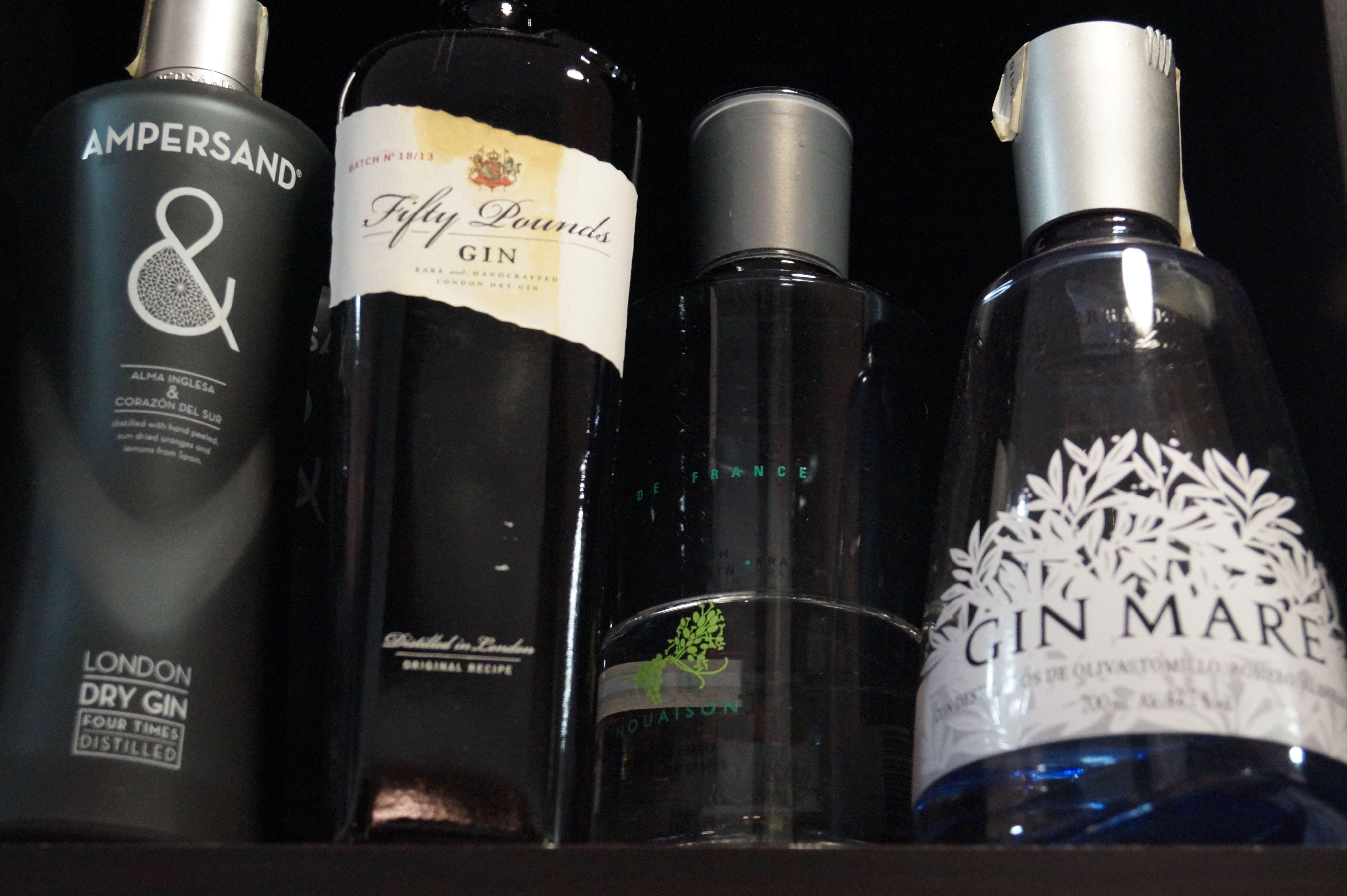especialidad en gin tonic.