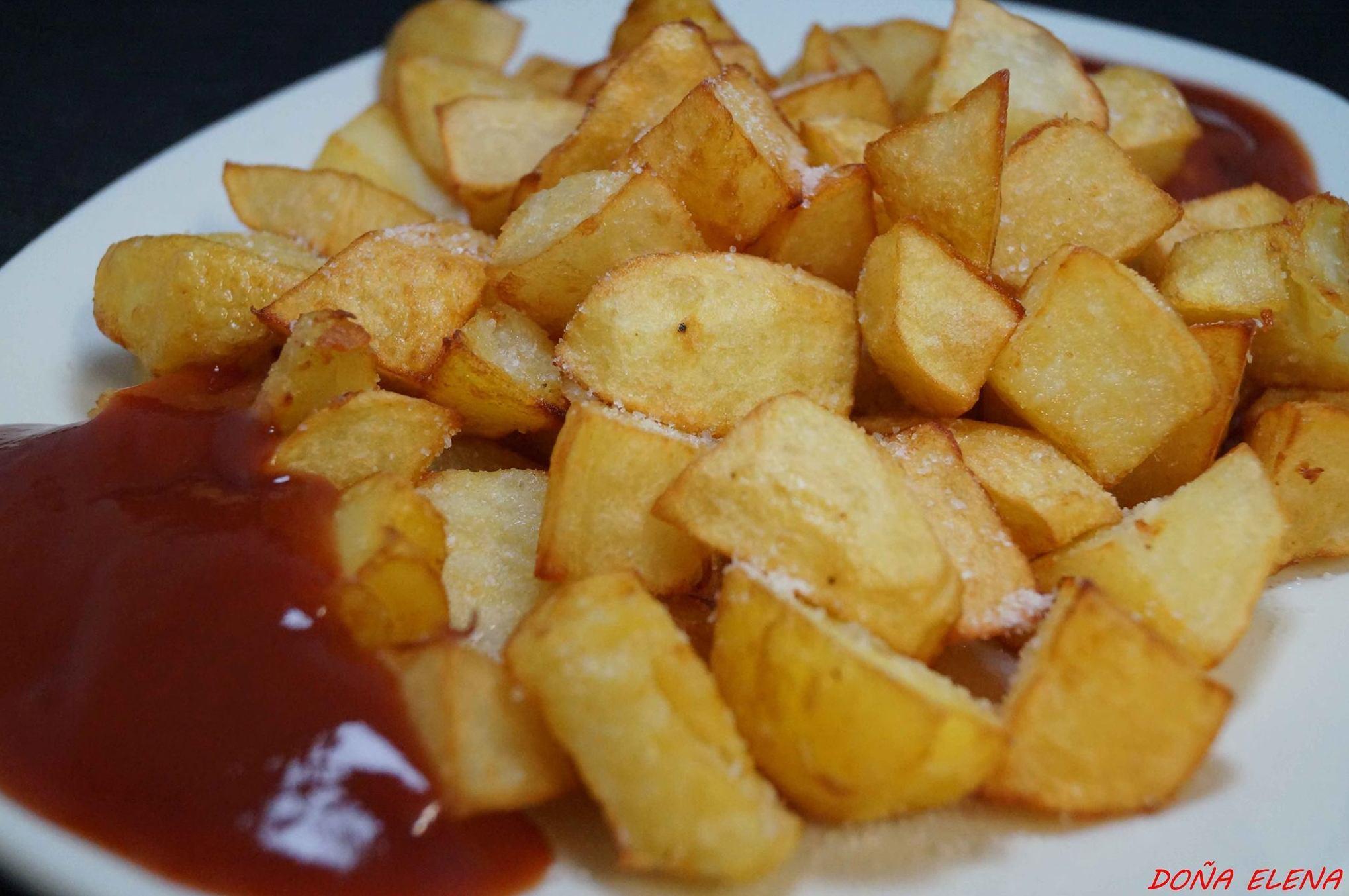 patatas bravas naturales(carta)