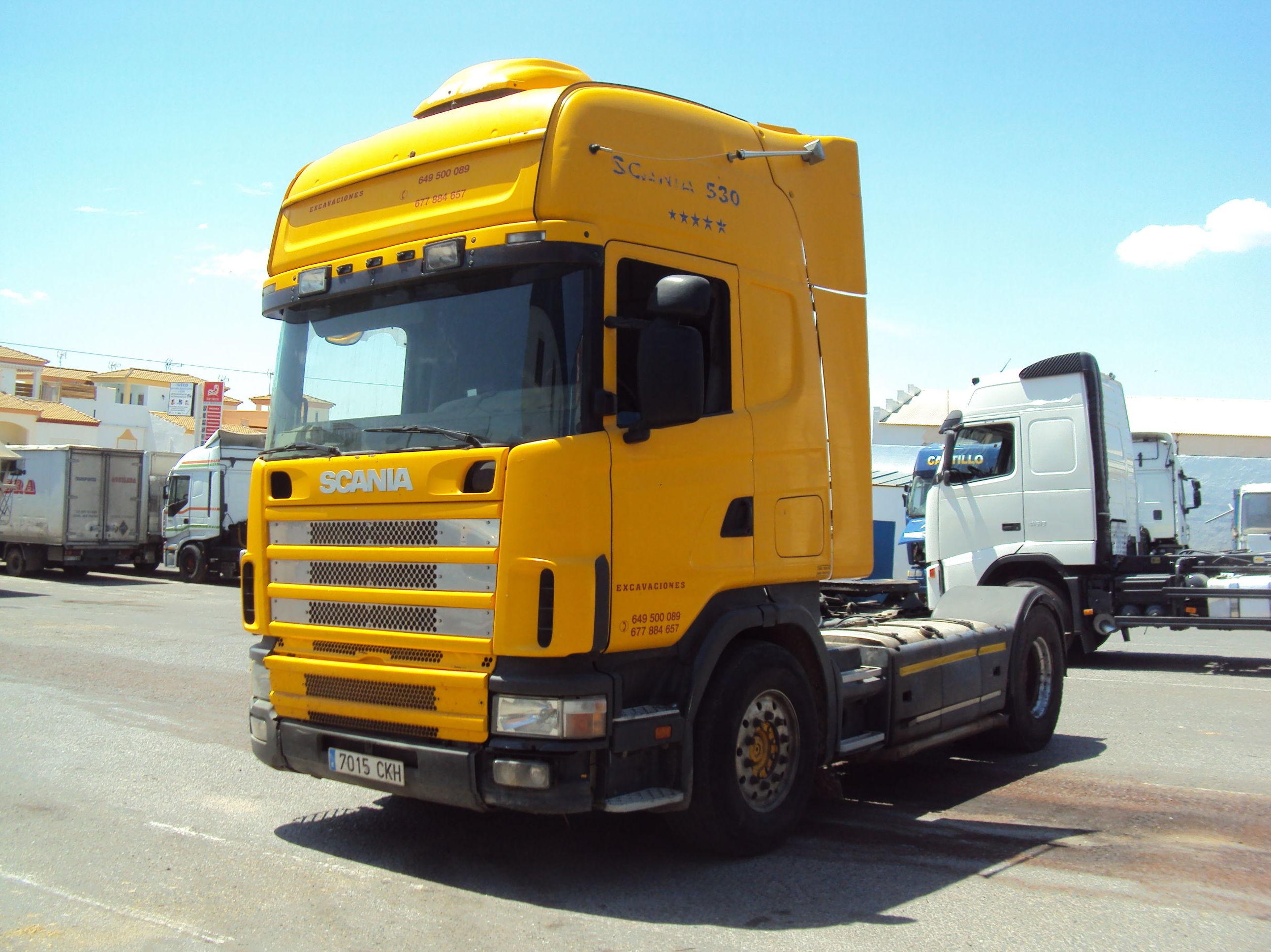 Scania R144L: Servicios de Talleres Joaquín López, S.L.