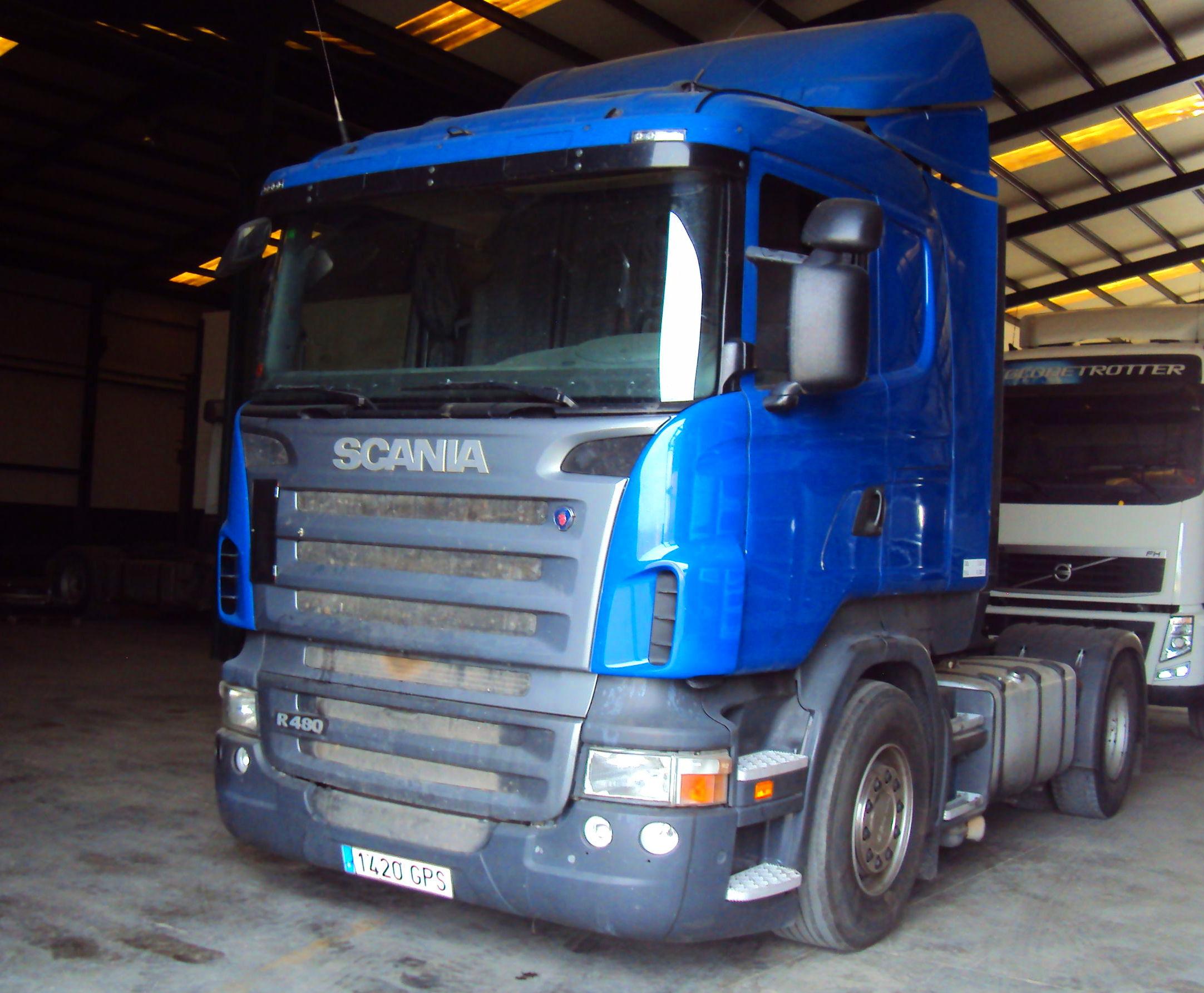 Scania R480: Servicios de Talleres Joaquín López, S.L.