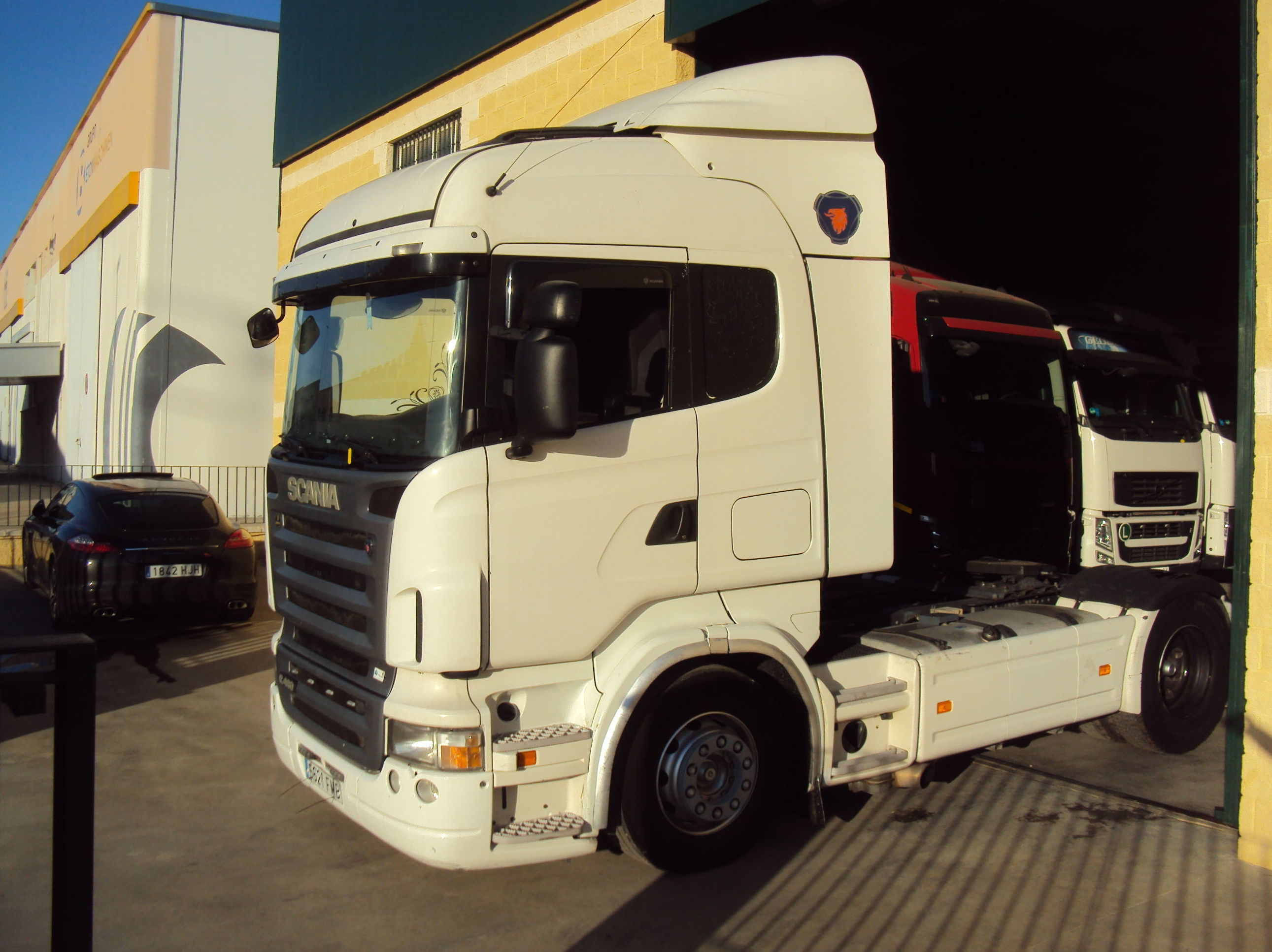Scania R480 con RETARDER: Servicios de Talleres Joaquín López, S.L.