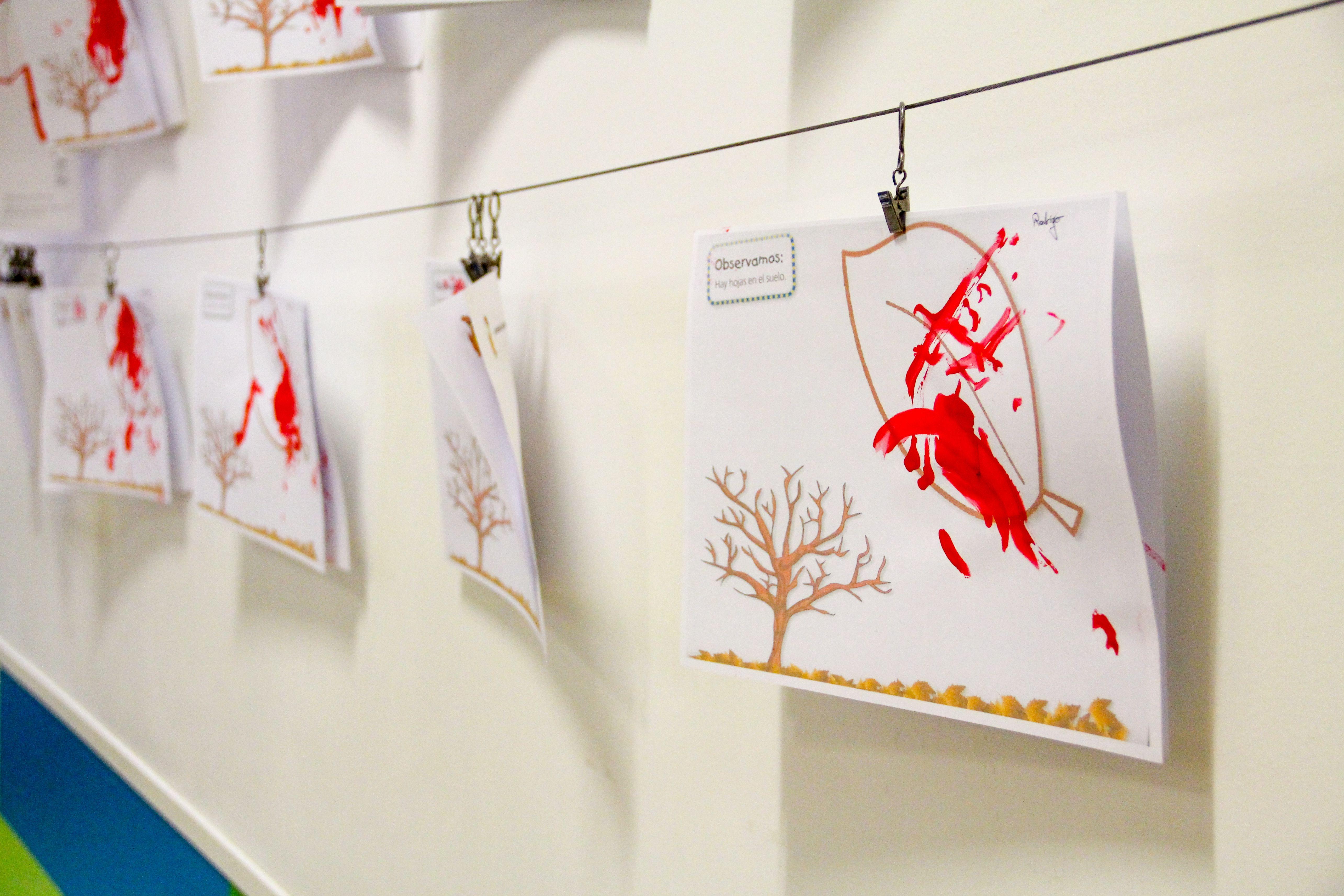 Dibujos otoño Escuela Infantil La Cotorrera
