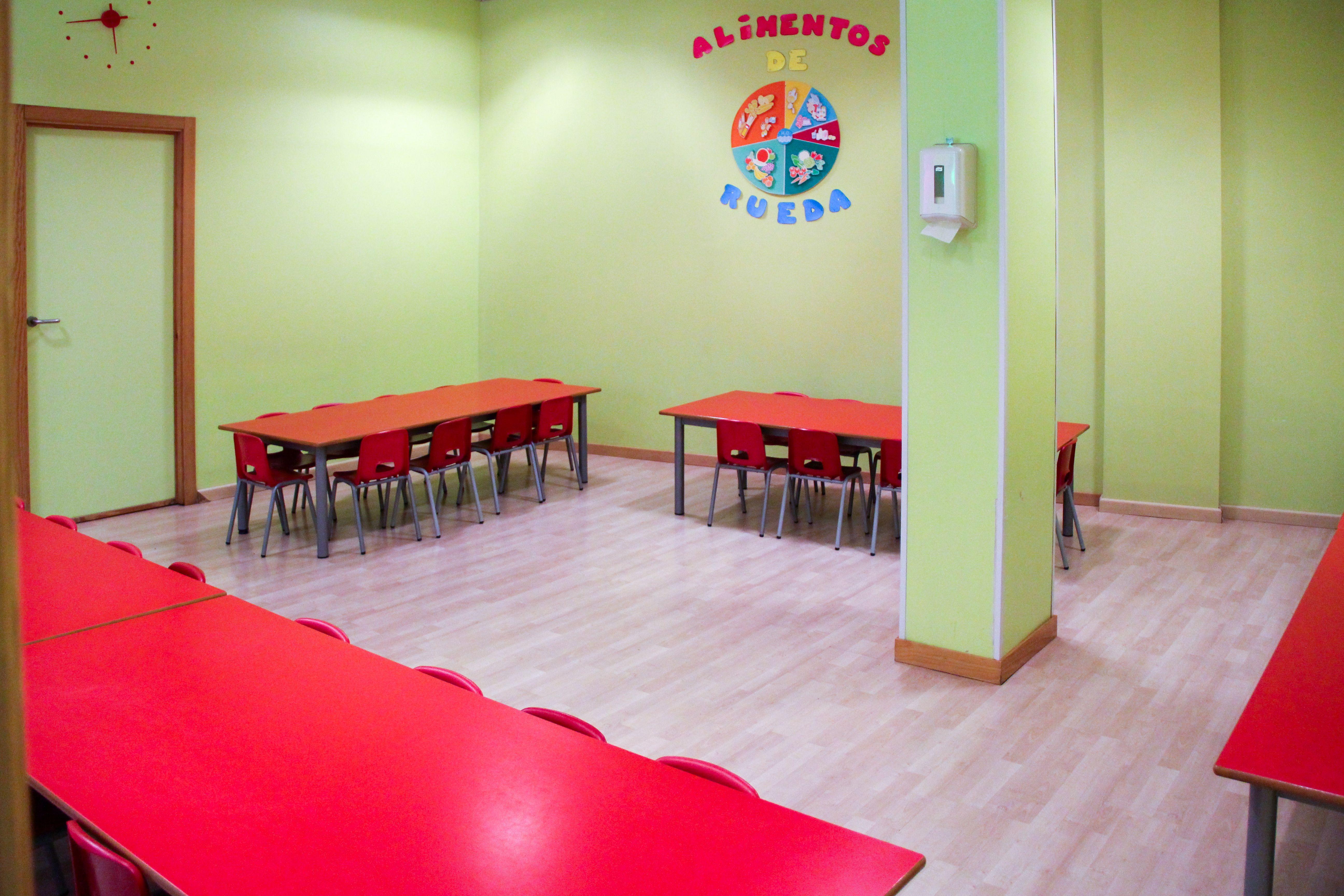 Zona comedor Escuela Infantil La Cotorrera