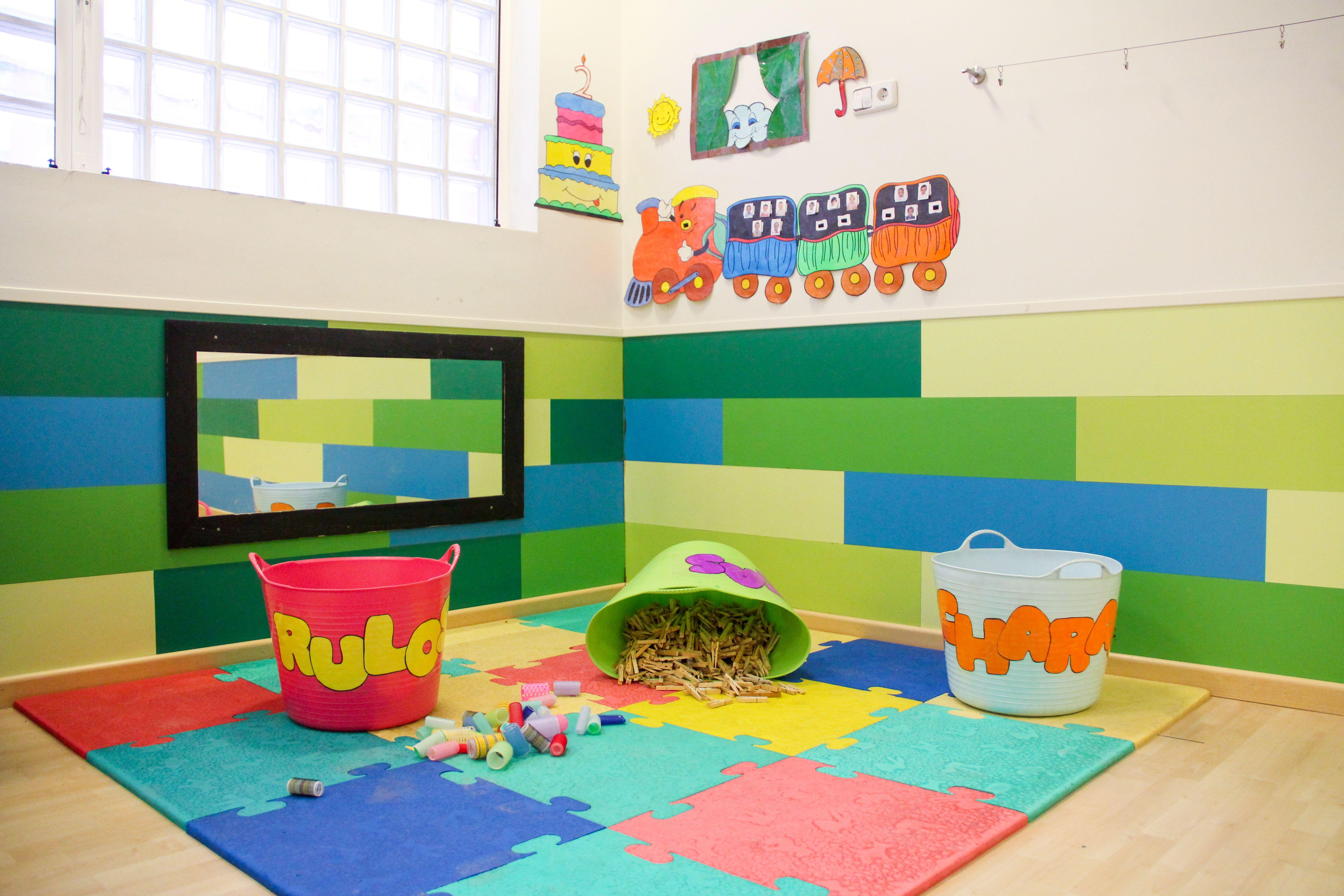 Zona juegos Escuela Infantil La Cotorrera