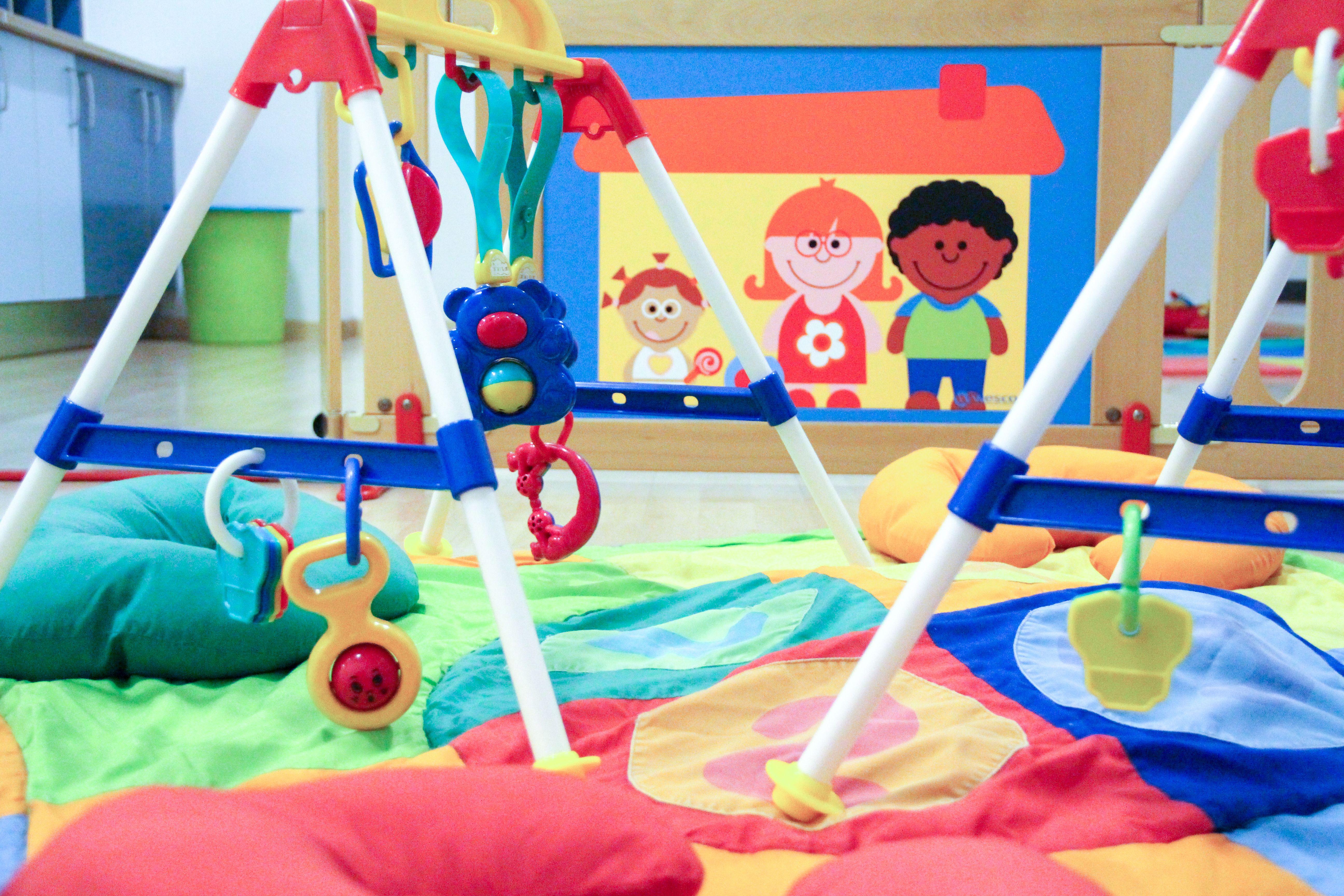 Zona juegos bebés Escuela Infantil La Cotorrera