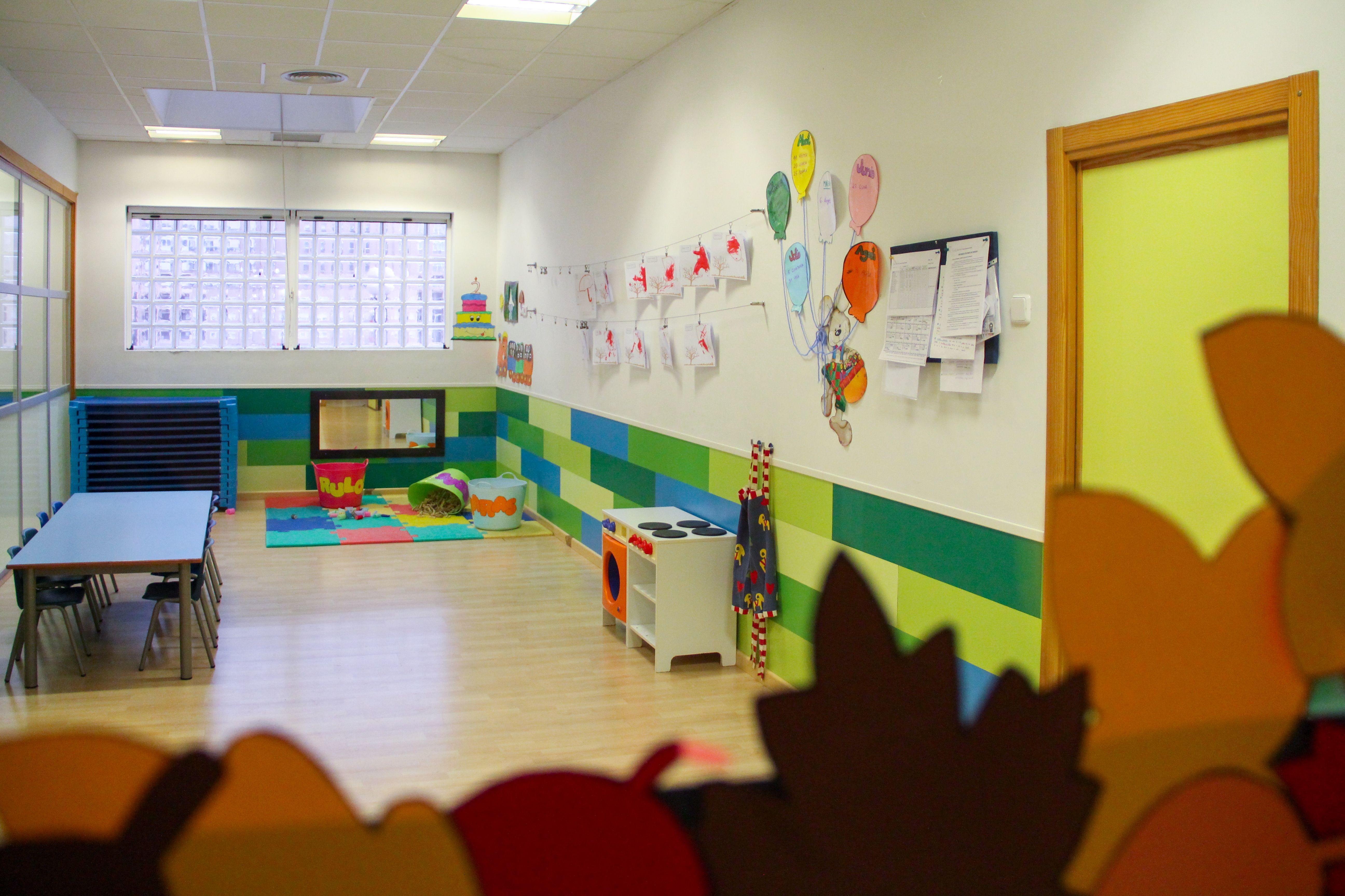 Clase Escuela Infantil La Cotorrera