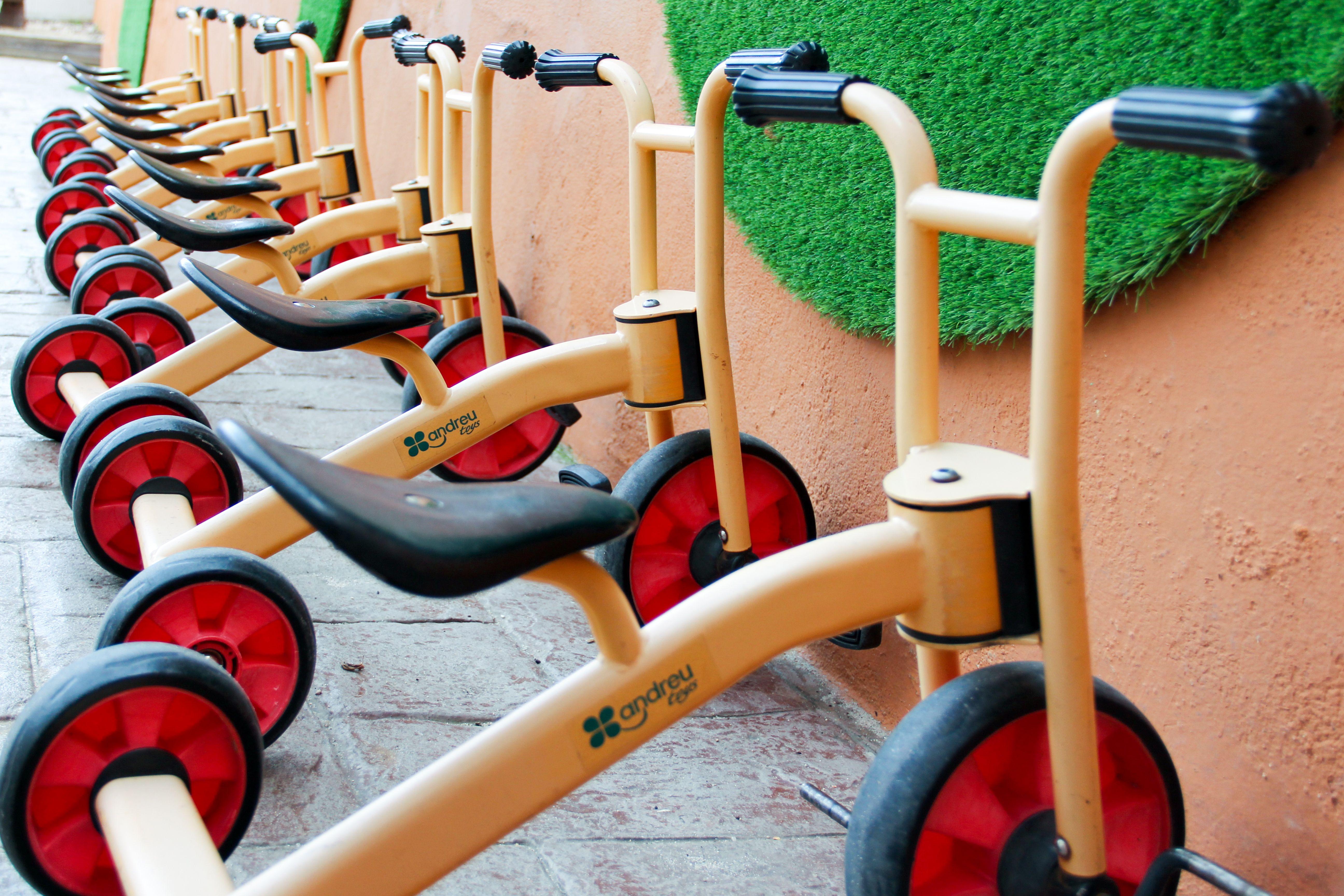 Triciclos Escuela Infantil La Cotorrera