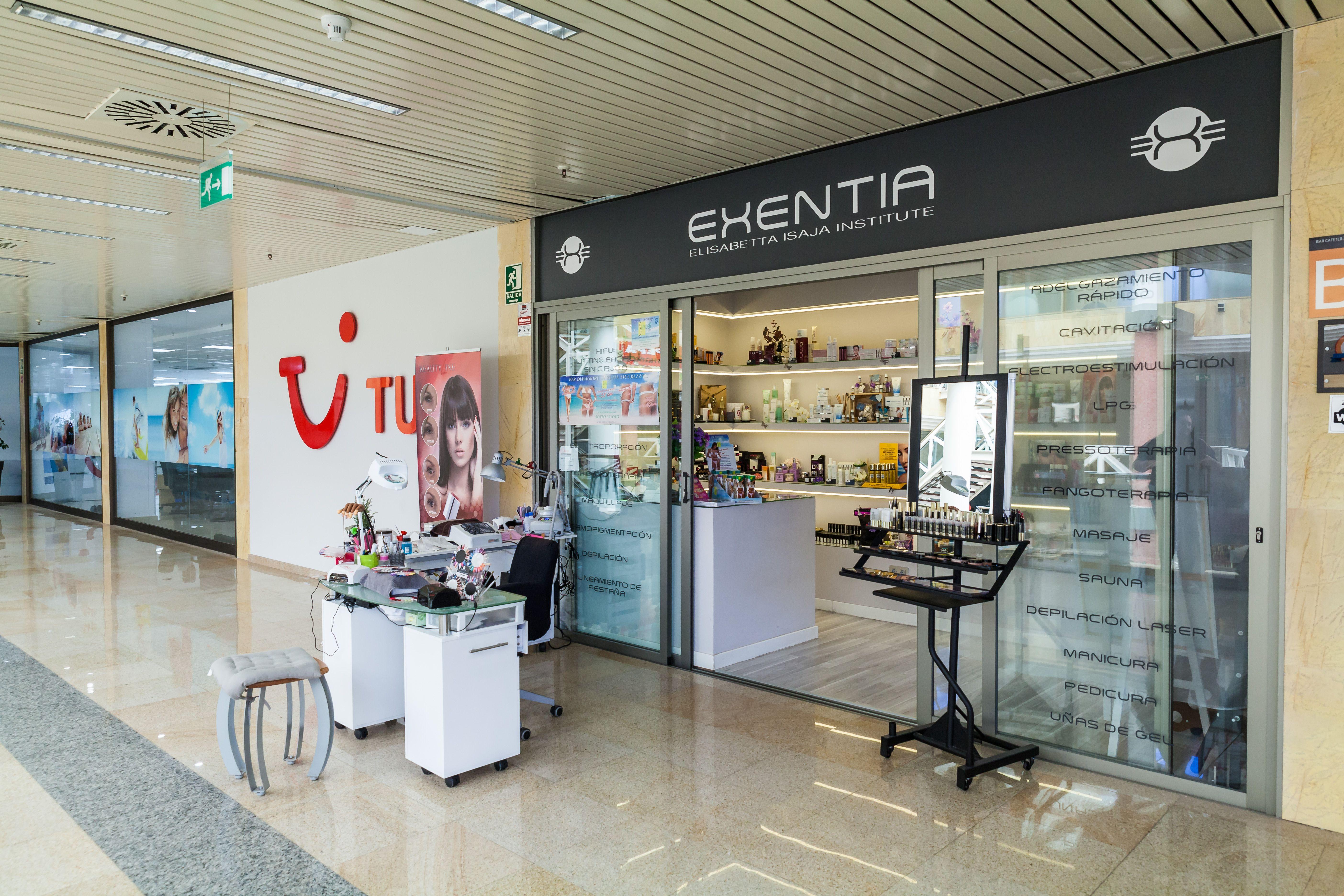 Centro de estética avanzada y peluquería Exentia en Santa Cruz de Tenerife