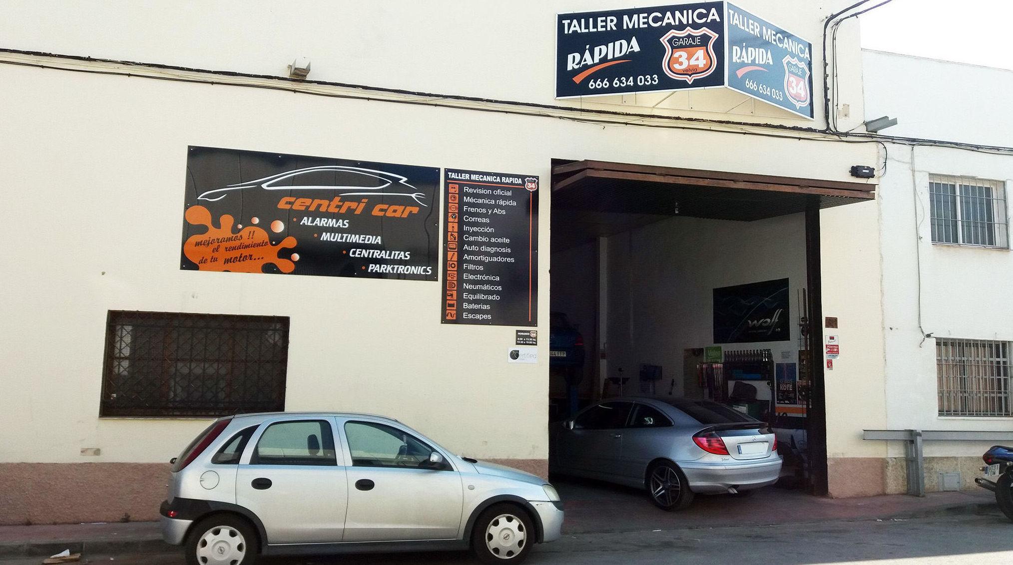 Taller de coches en Málaga | Taller mecánico Garaje 34 - Centricar