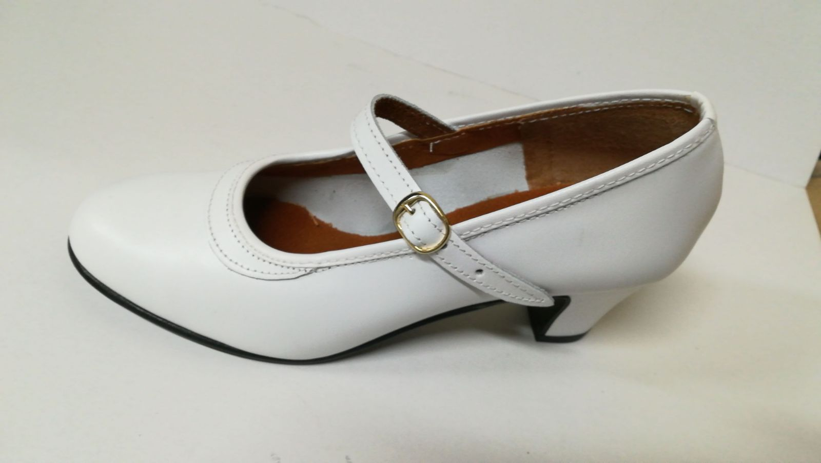 Zapato blanco: Productos de Calzados Malaca