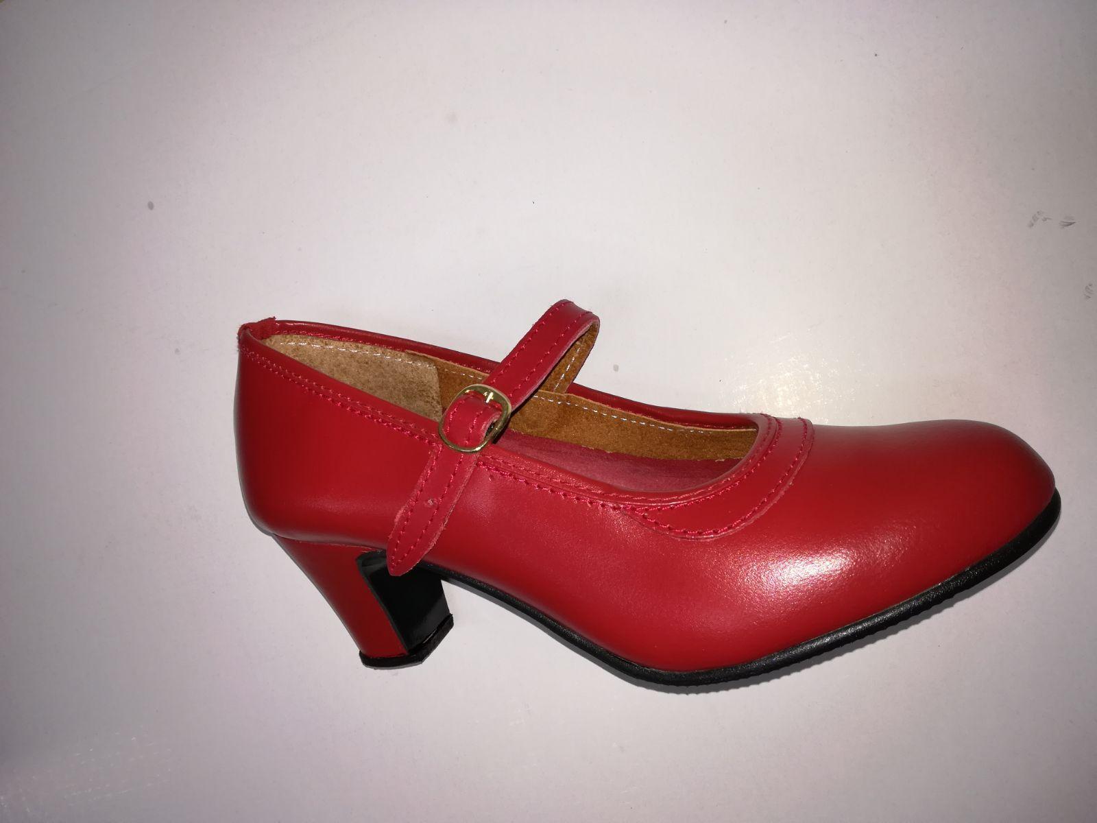 Zapato rojo piel: Productos de Calzados Malaca