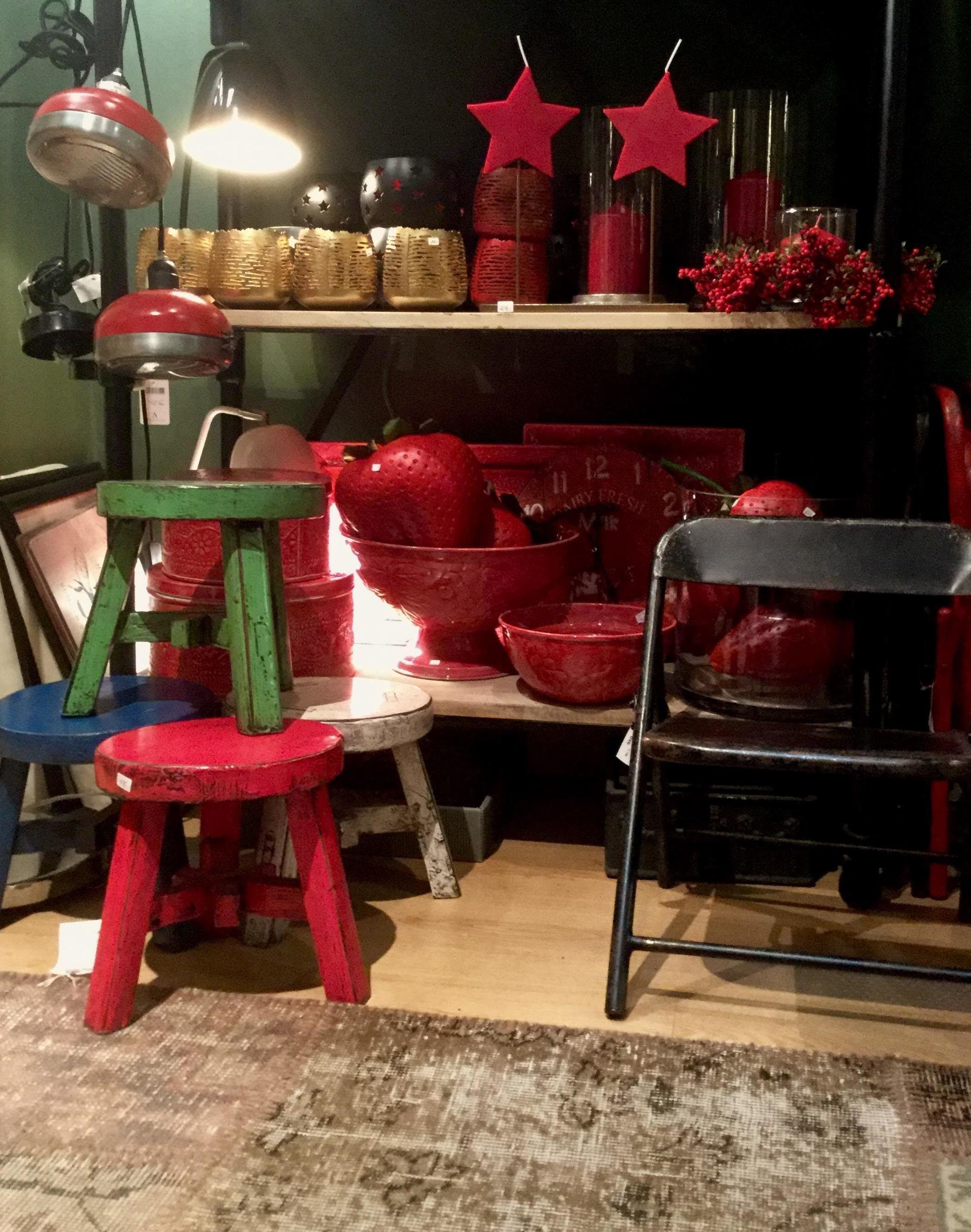Venta de complementos decorativos para Navidad