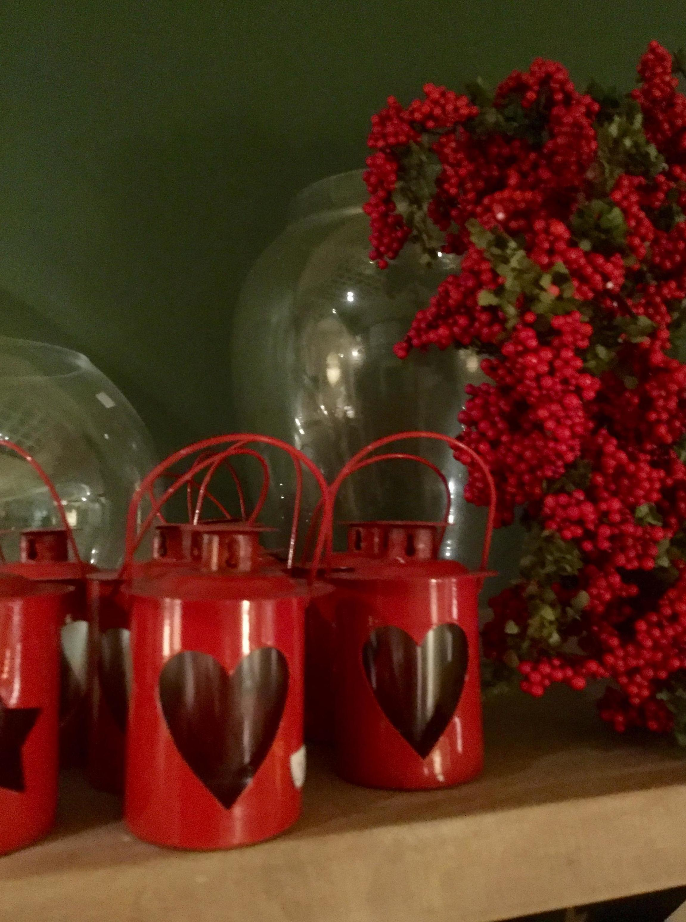 Portavelas navideños