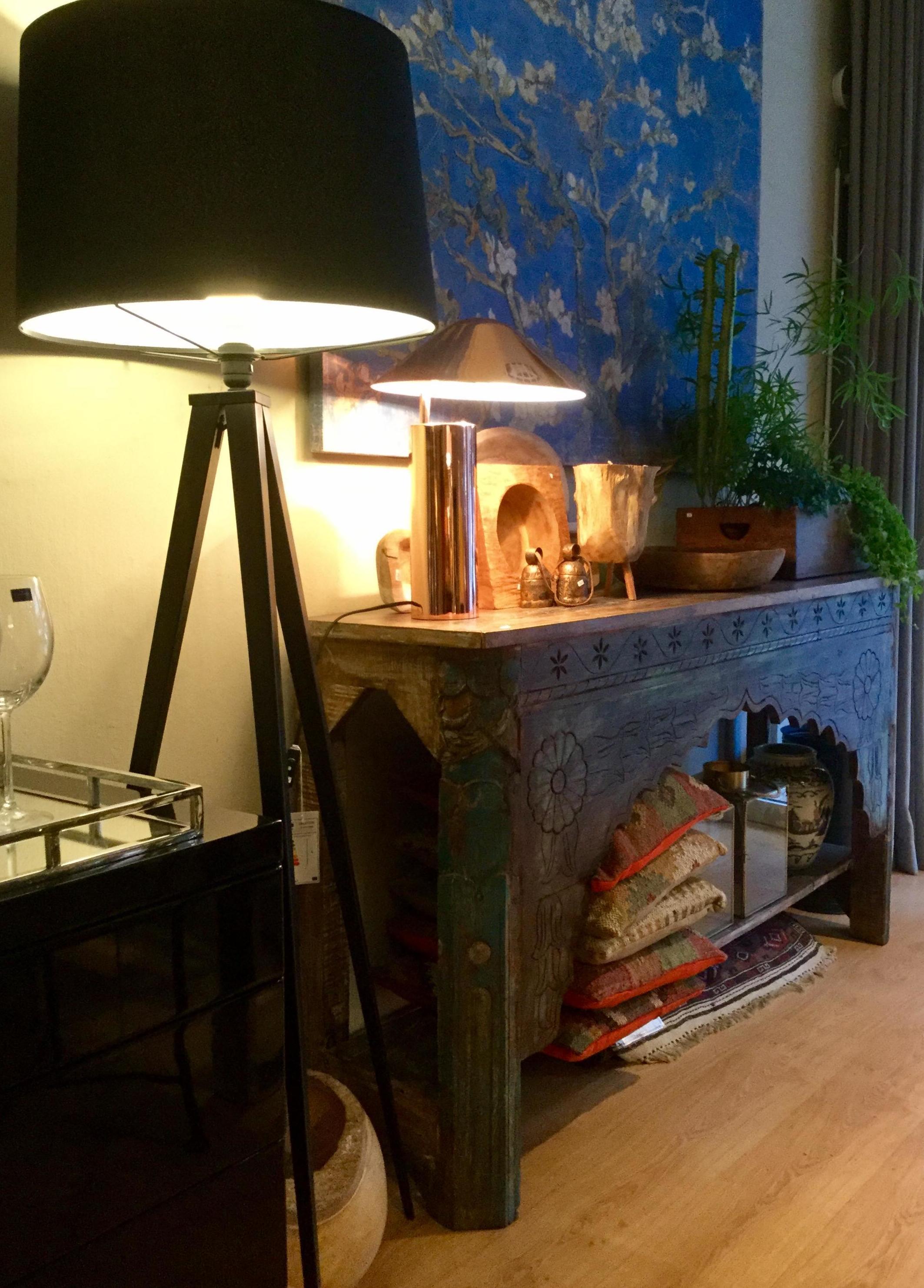 Lámpara de pie para salón