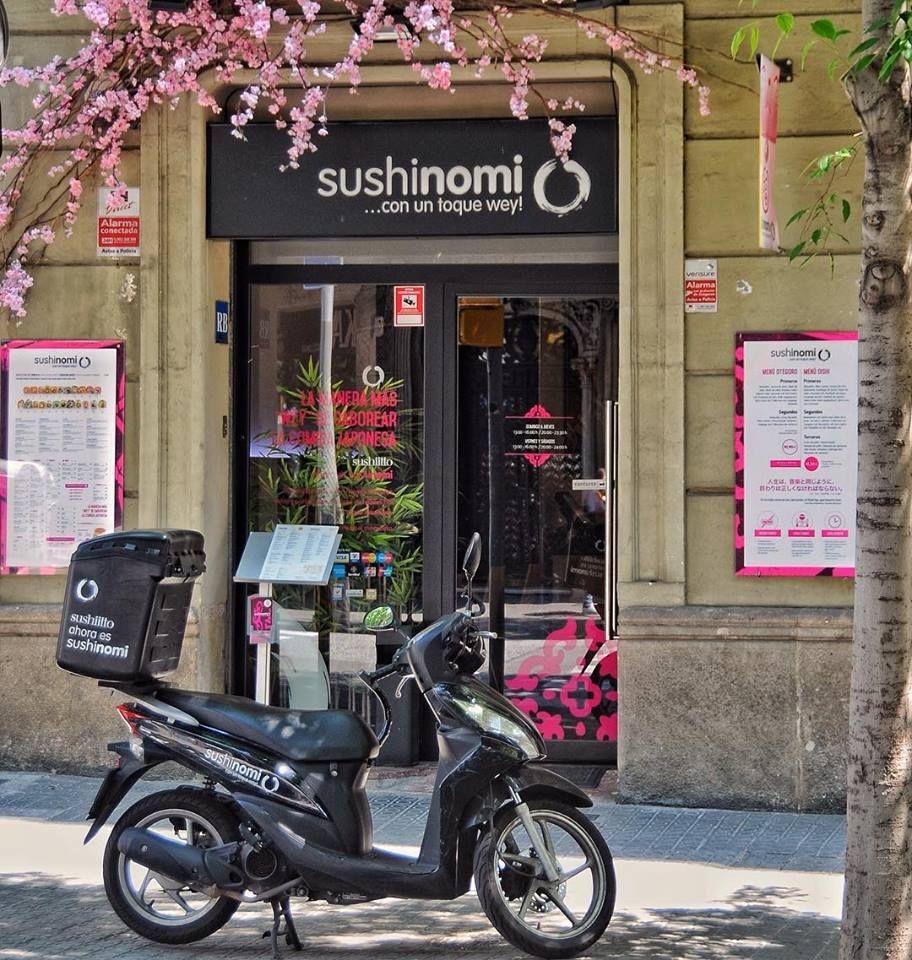 Pedidos a domicilio: Sushi y mucho más de Sushinomi
