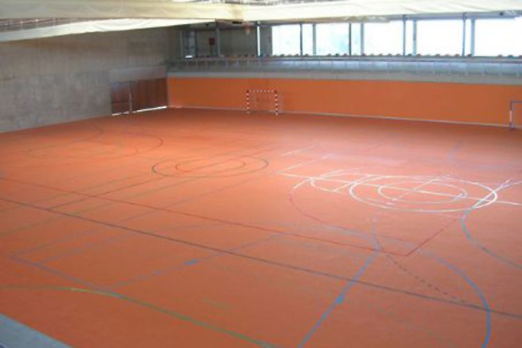 Pavimento deportivo en Vizcaya