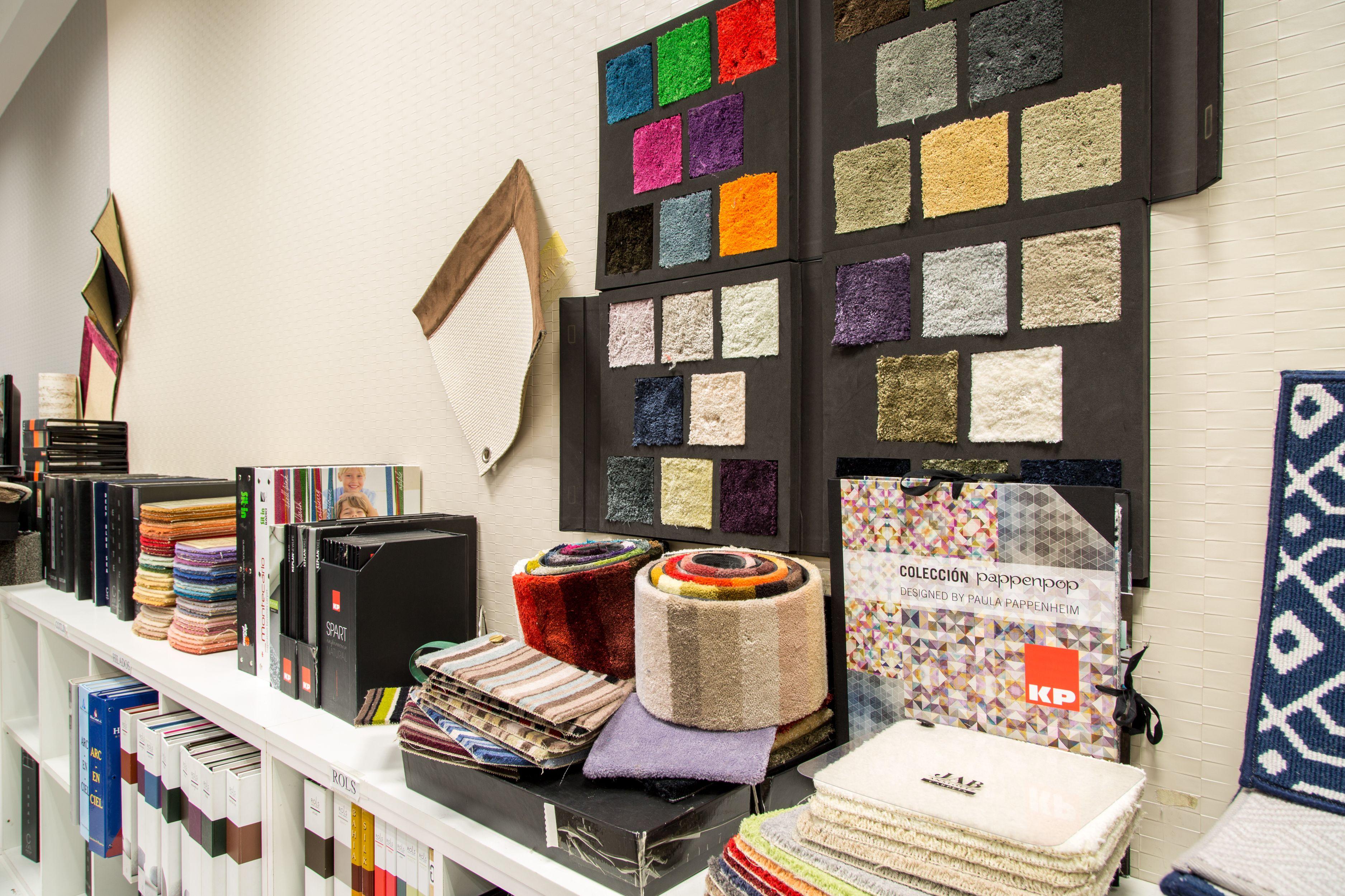 Amplia selección de materiales para suelos y paredes
