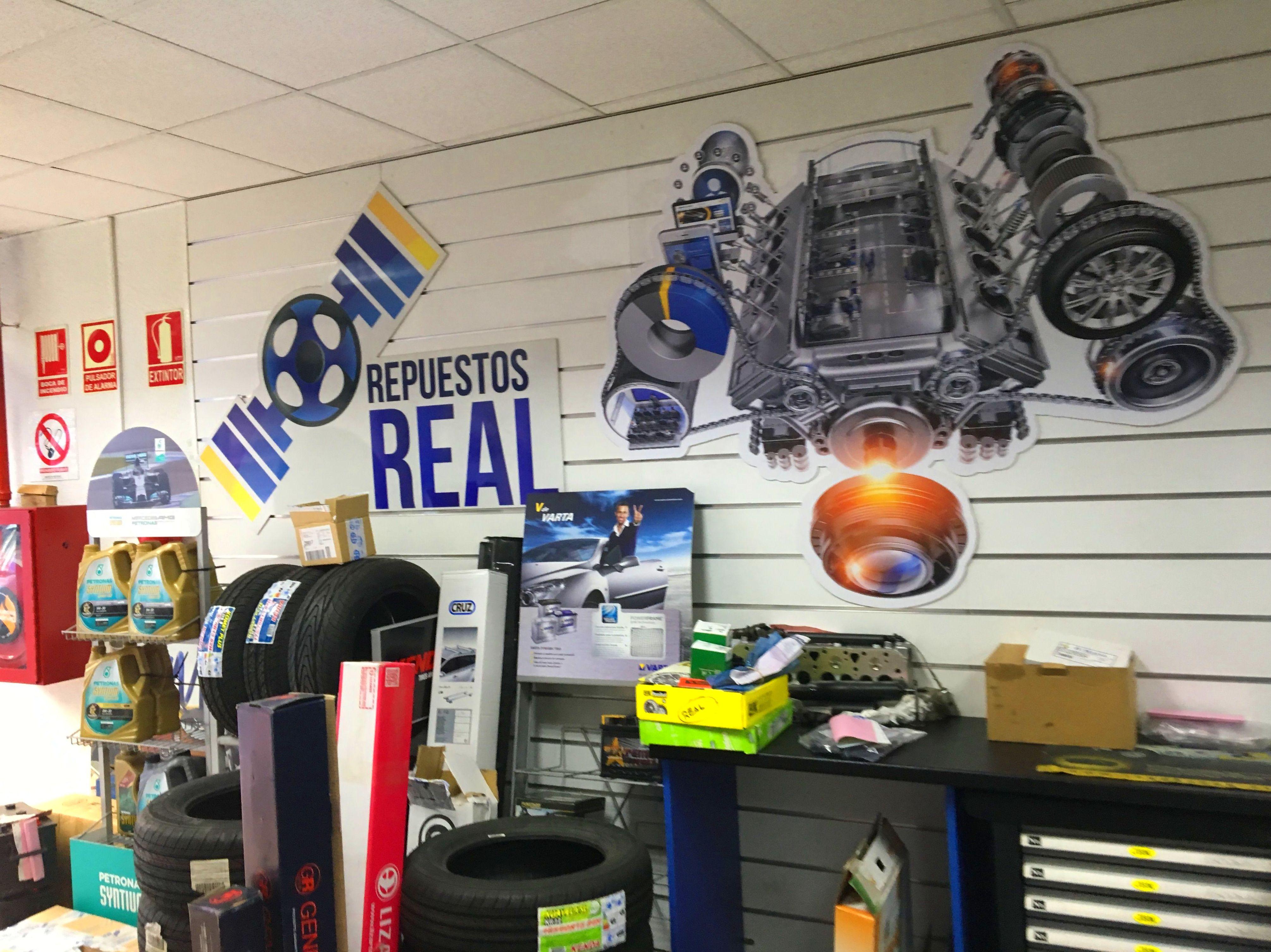Foto 3 de Recambios y accesorios del automóvil en Madrid | Repuestos Real, S.L.