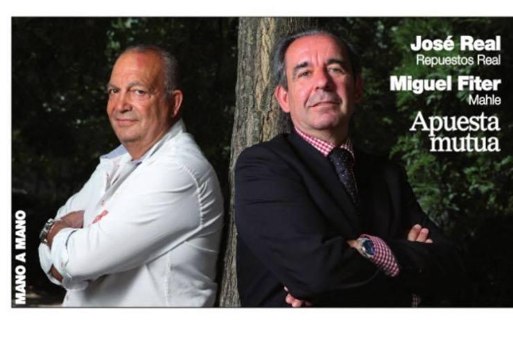 Entrevista José Real de Repuestos Real y Miguel Fiter de Mahle