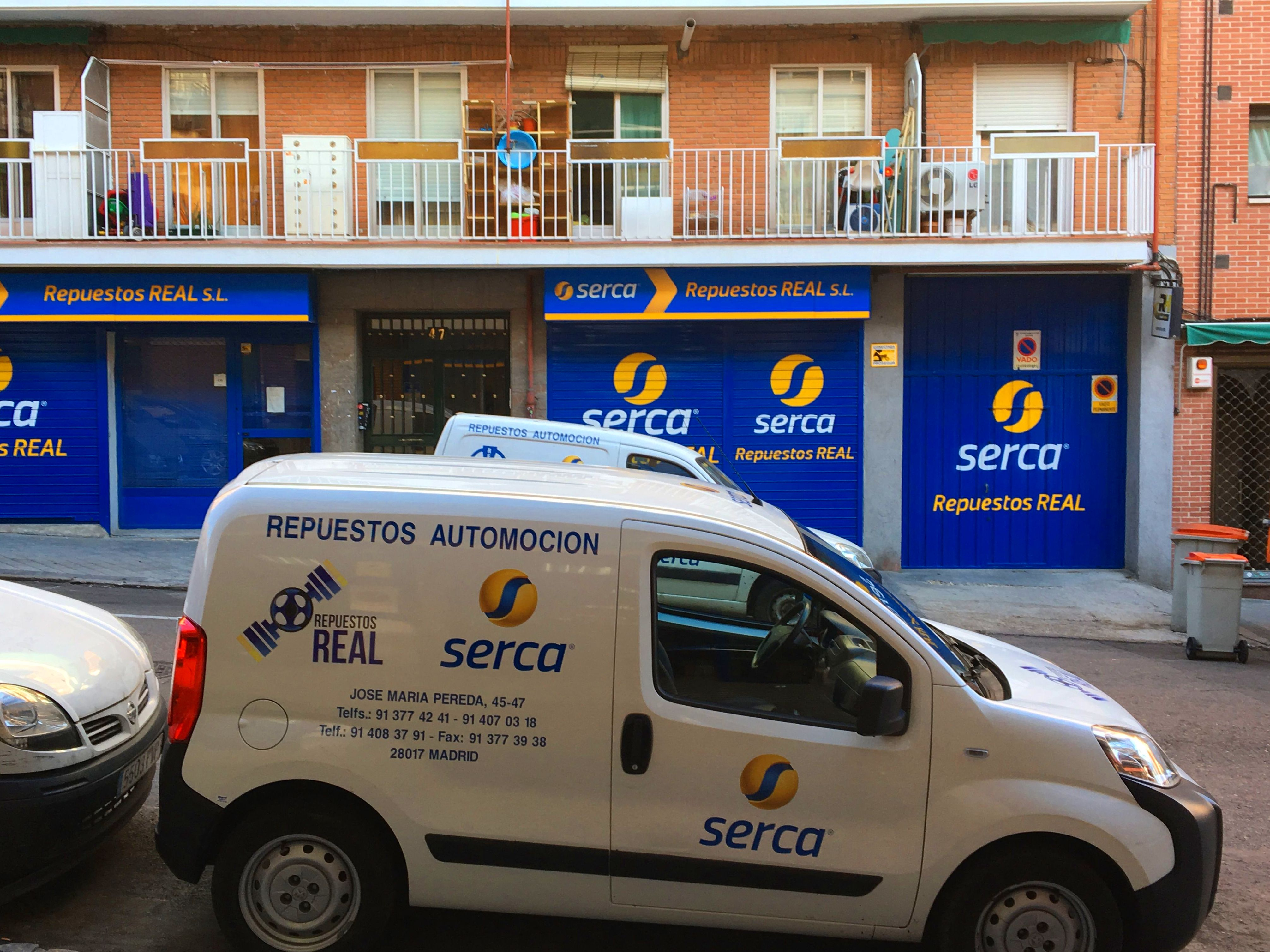 Foto 1 de Recambios y accesorios del automóvil en Madrid | Repuestos Real, S.L.