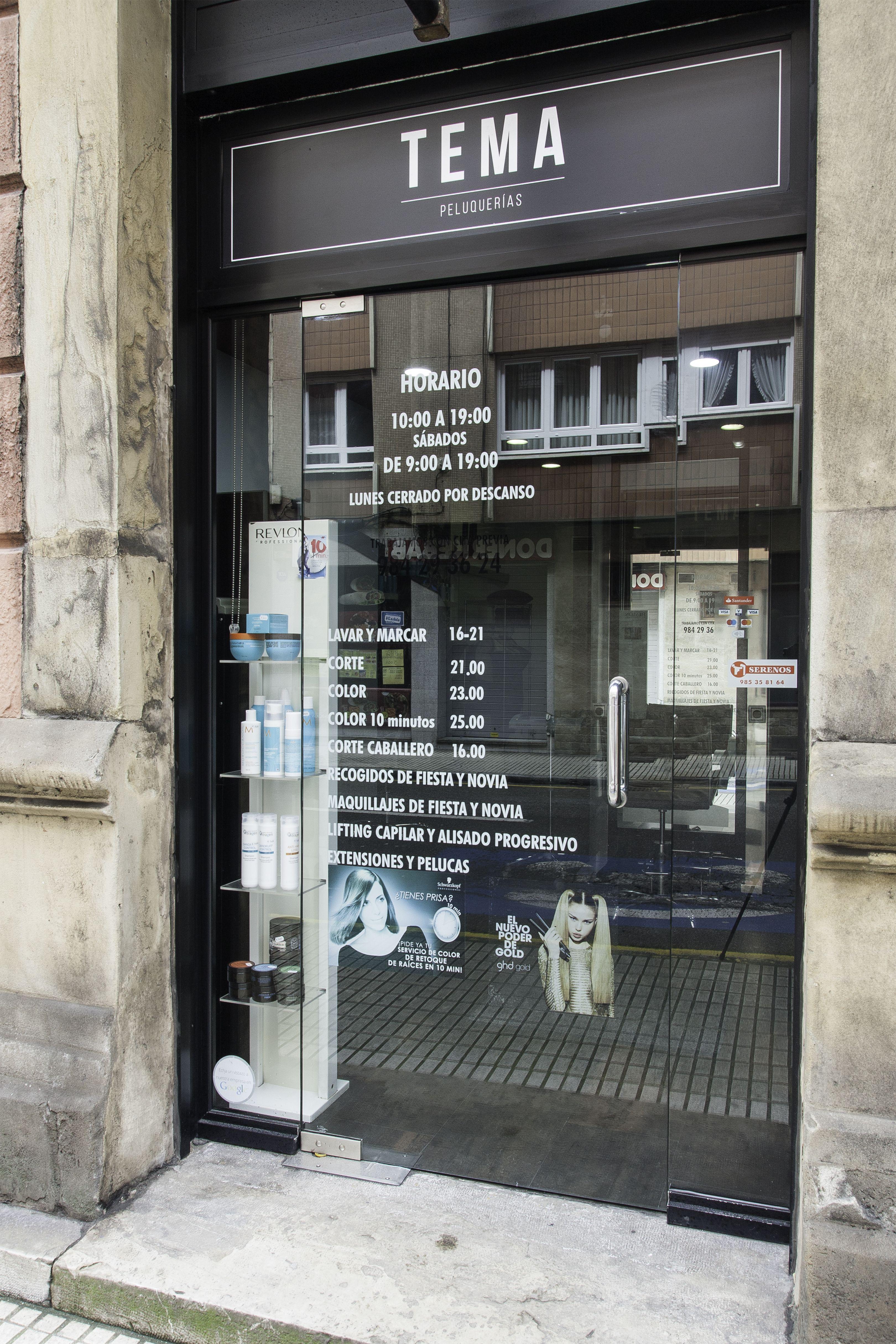 Peluquería unisex en Gijón