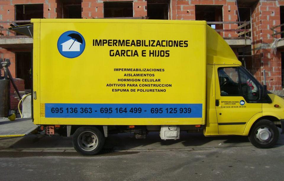 Foto 15 de Impermeabilización en Castelló de la Plana | Impermeabilizaciones García e Hijos
