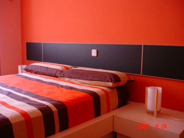 Pintura decorativa en habitación principal