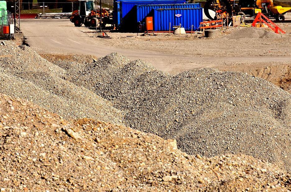 Trabajos de excavaciones en A Fonsagrada, Lugo