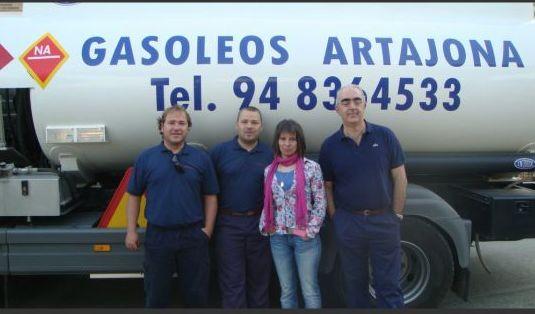 distribución de Gasóleo Navarra