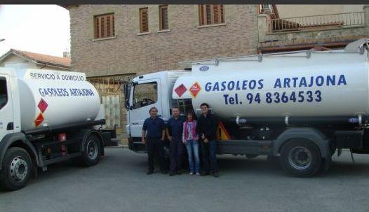 Servicio a domicilio: Productos de Gasóleos Artajona