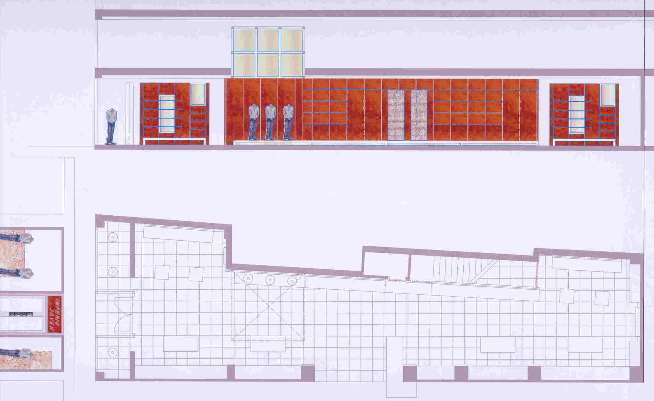 Proyecto de Diseño de Interiores para tienda de ropa