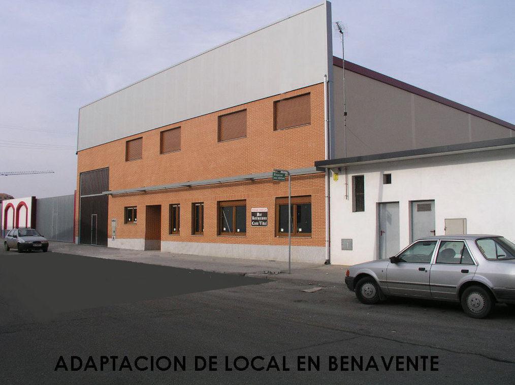 Proyecto y Dirección de Obra Restaurante y Cafeteria en Benavente