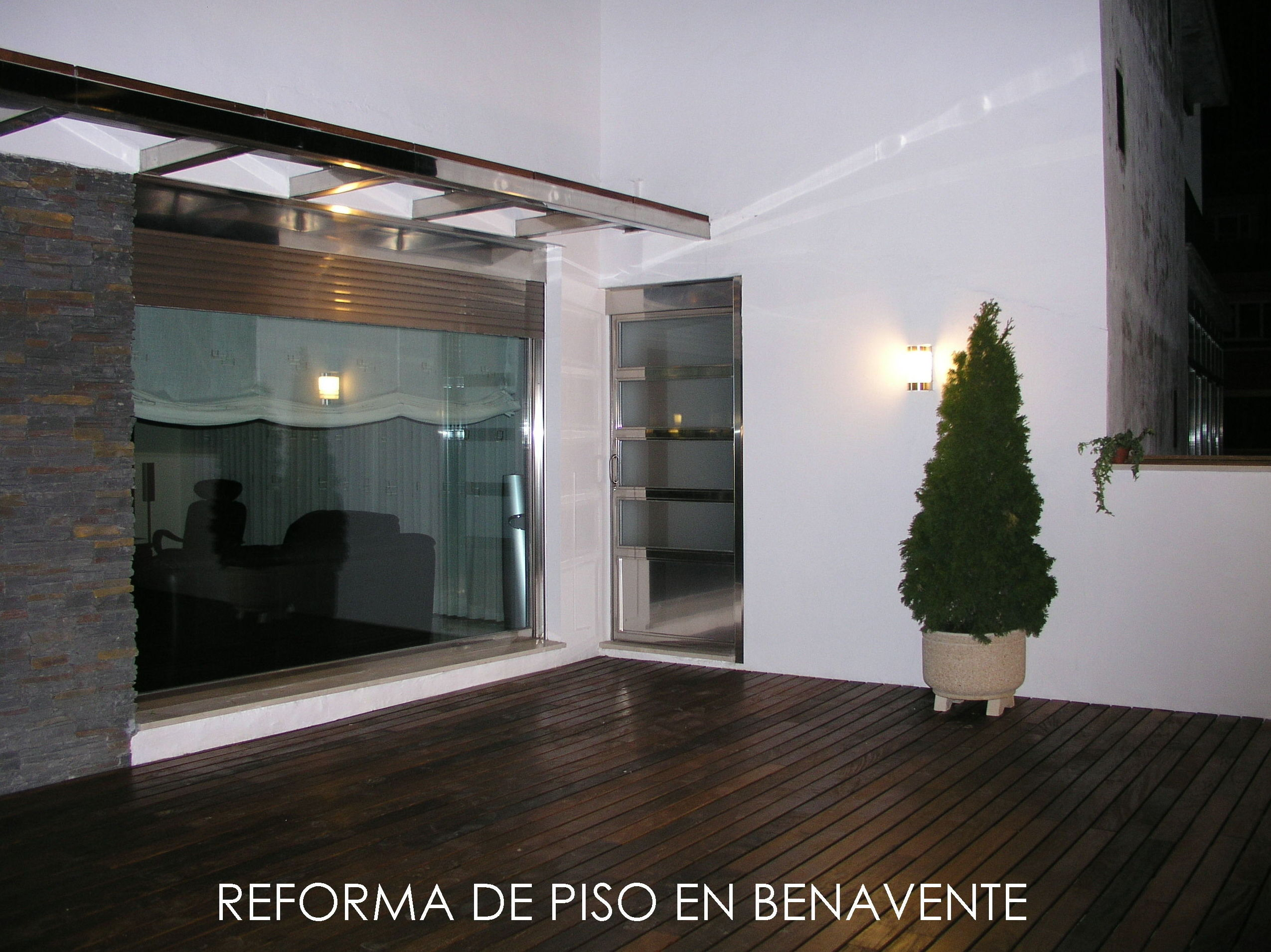 PROYECTO PARA LA REFORMA DE UN PISO EN BENAVENTE