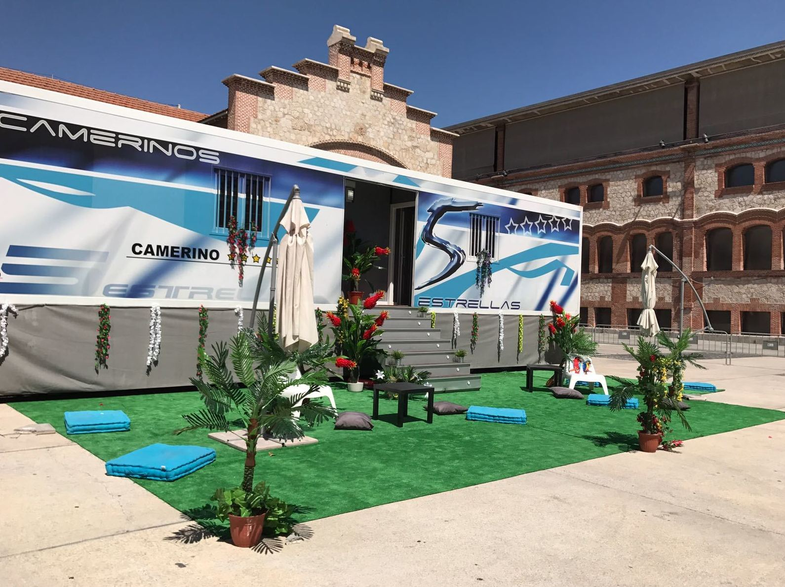 Alquiler de camerino 5 estrellas para eventos - Froilán grupos electrógenos en León