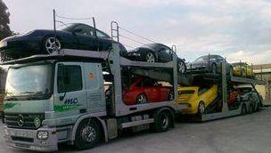 Camiones especiales para transporte de vehículos